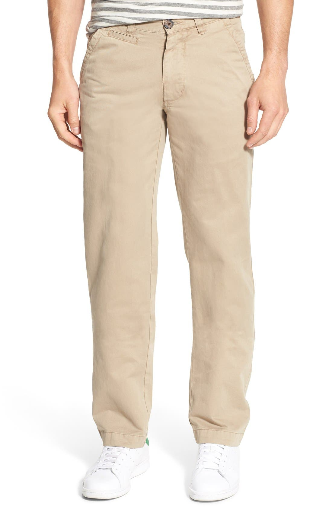 'Sahara' Trim Fit Vintage Washed Twill Chinos,                             Main thumbnail 3, color,
