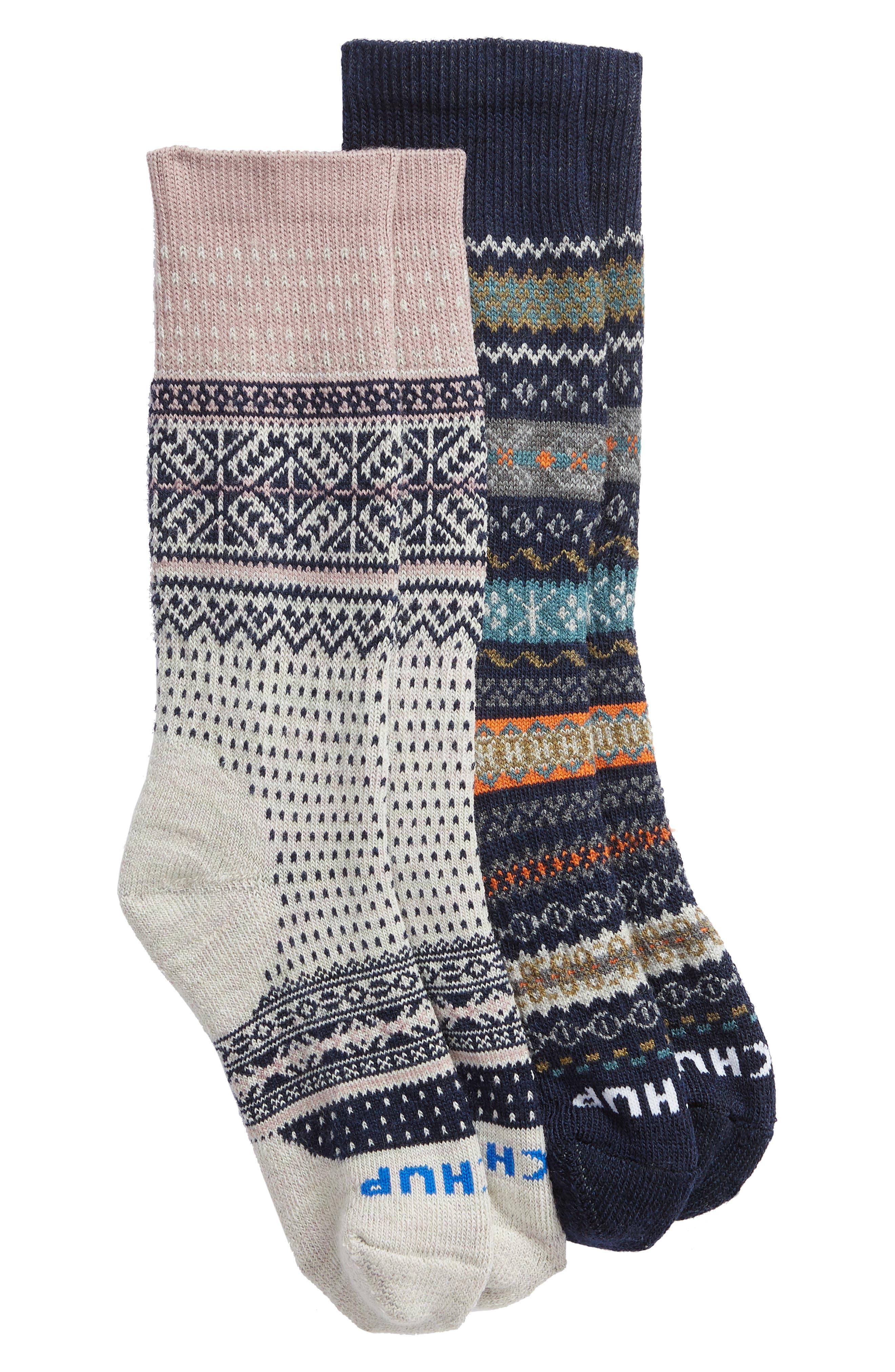 SMARTWOOL x CHUP 2-Pack Merino Wool Socks, Main, color, 410