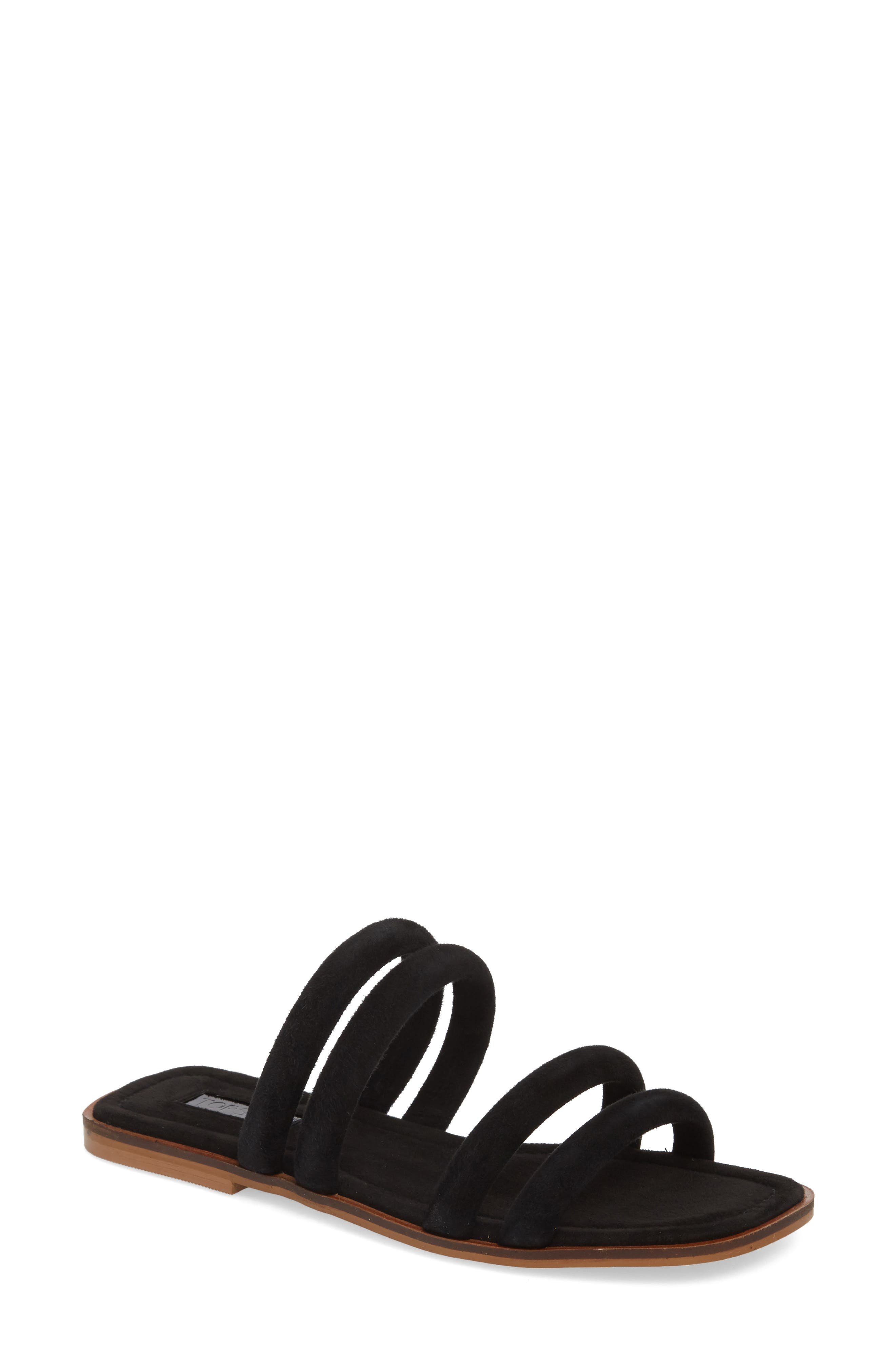 Fever Strappy Sandal,                             Main thumbnail 1, color,                             001
