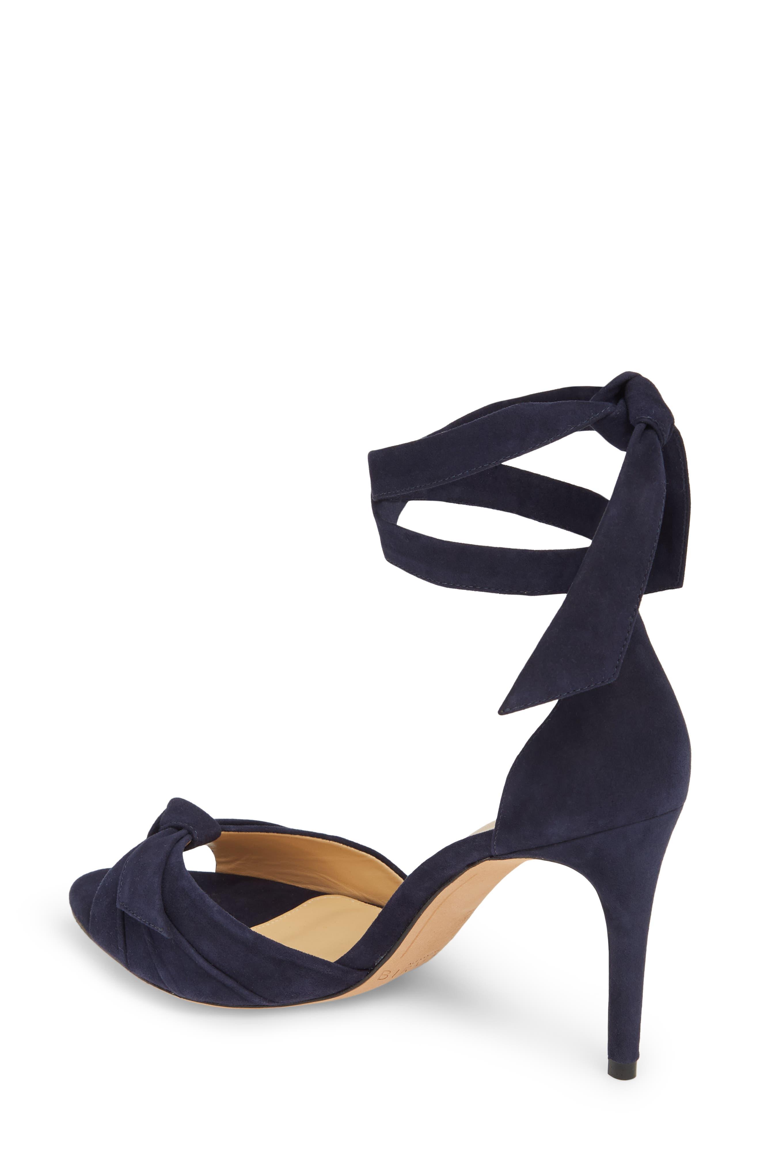 Clarita Ankle Tie Sandal,                             Alternate thumbnail 2, color,                             NIGHT SHADE