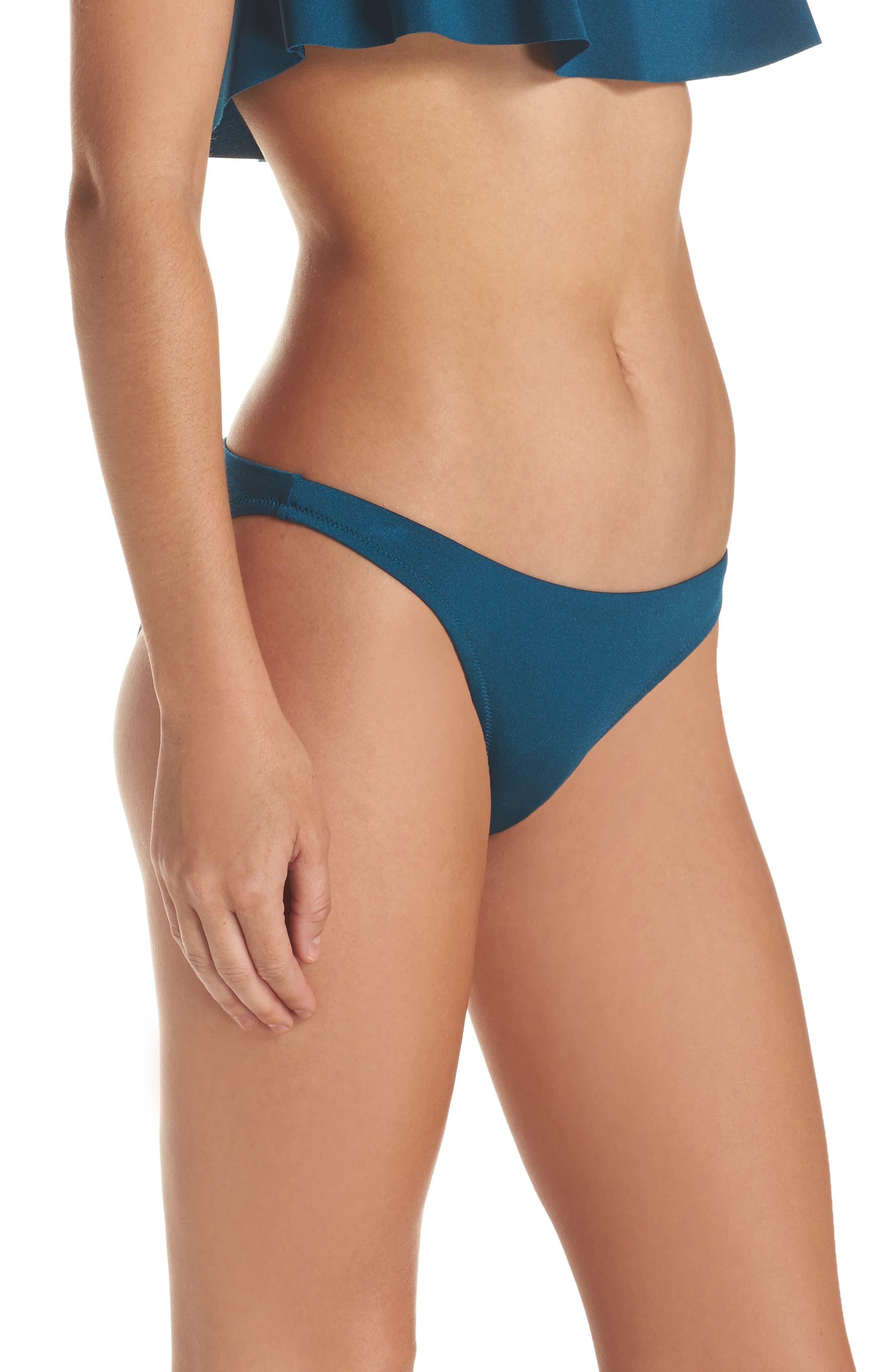 St. Lucia Bikini Bottoms,                             Alternate thumbnail 3, color,                             445