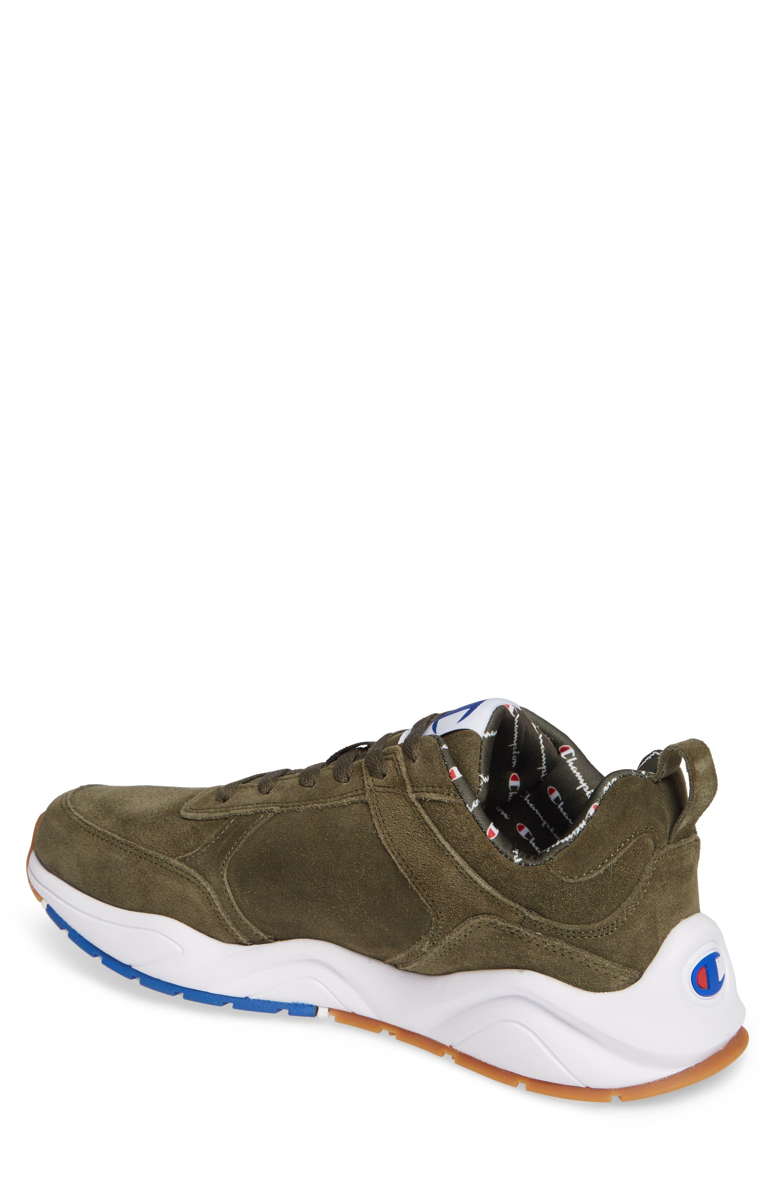 93Eighteen Sneaker,                             Alternate thumbnail 2, color,                             HIKER GREEN SUEDE