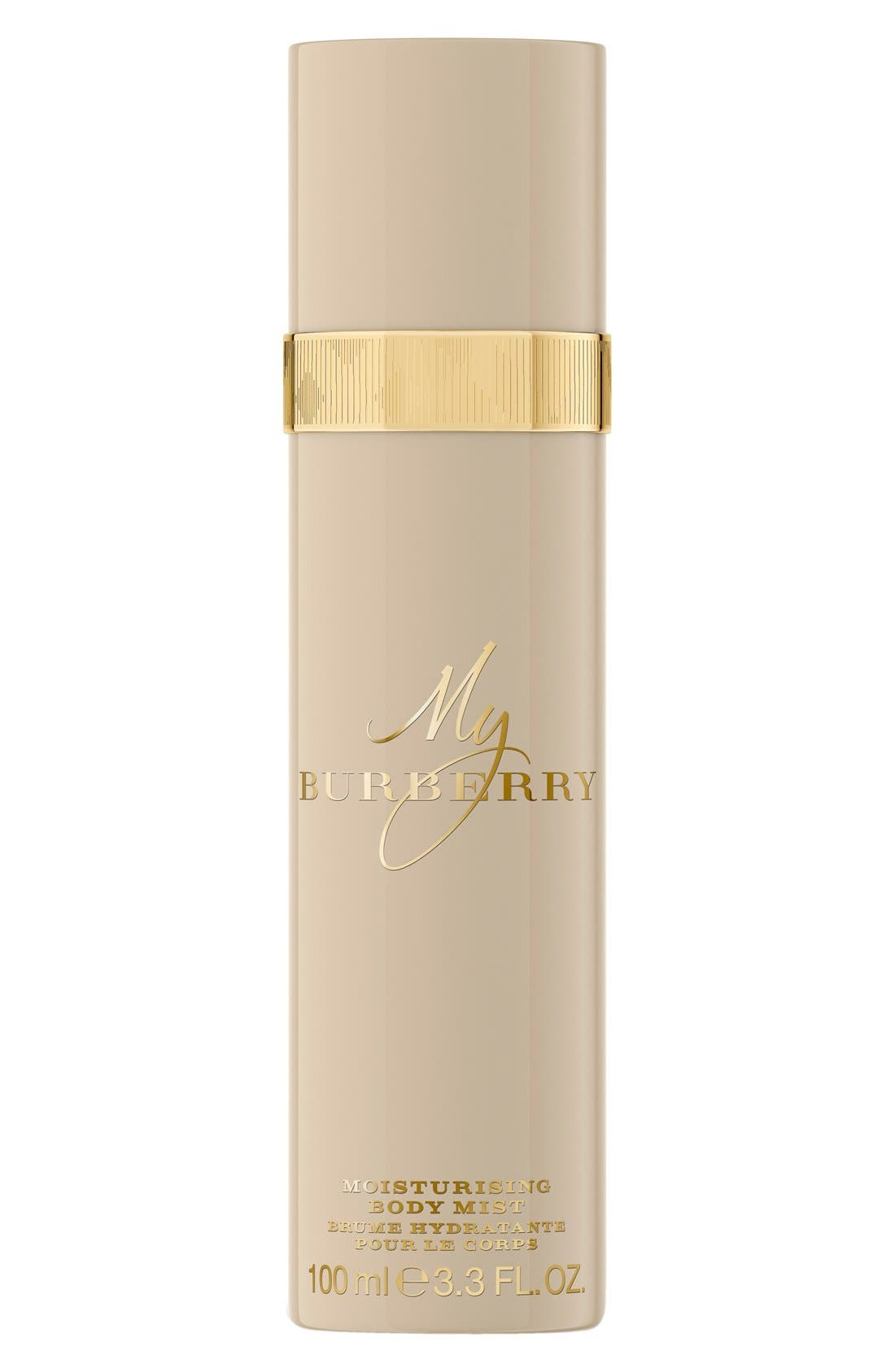 Burberry 'My Burberry' Moisturizing Body Mist,                             Main thumbnail 1, color,                             000