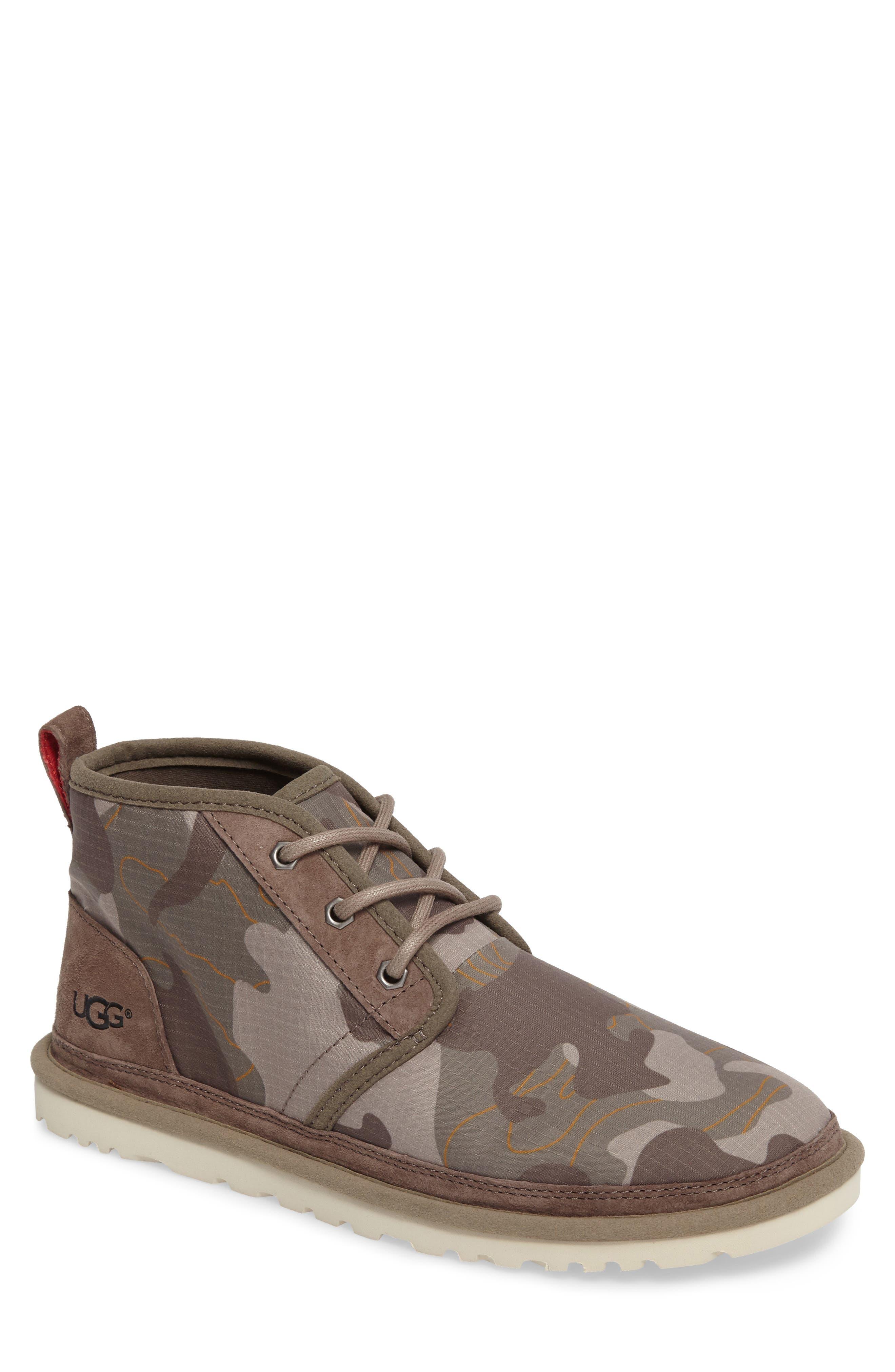 Neumel Camo Chukka Boot,                         Main,                         color, 063
