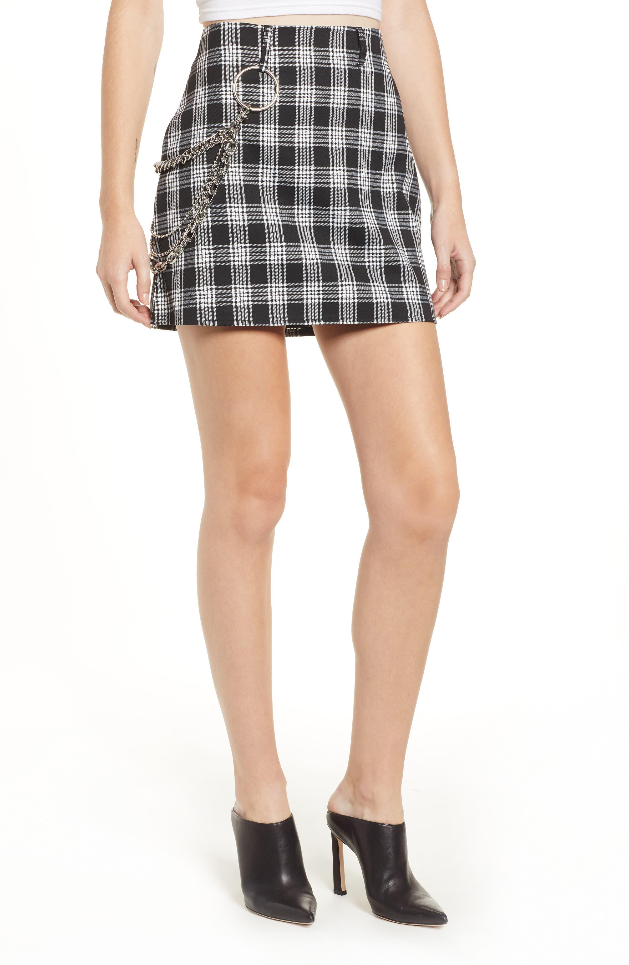 Madison Skirt,                         Main,                         color, BLACK