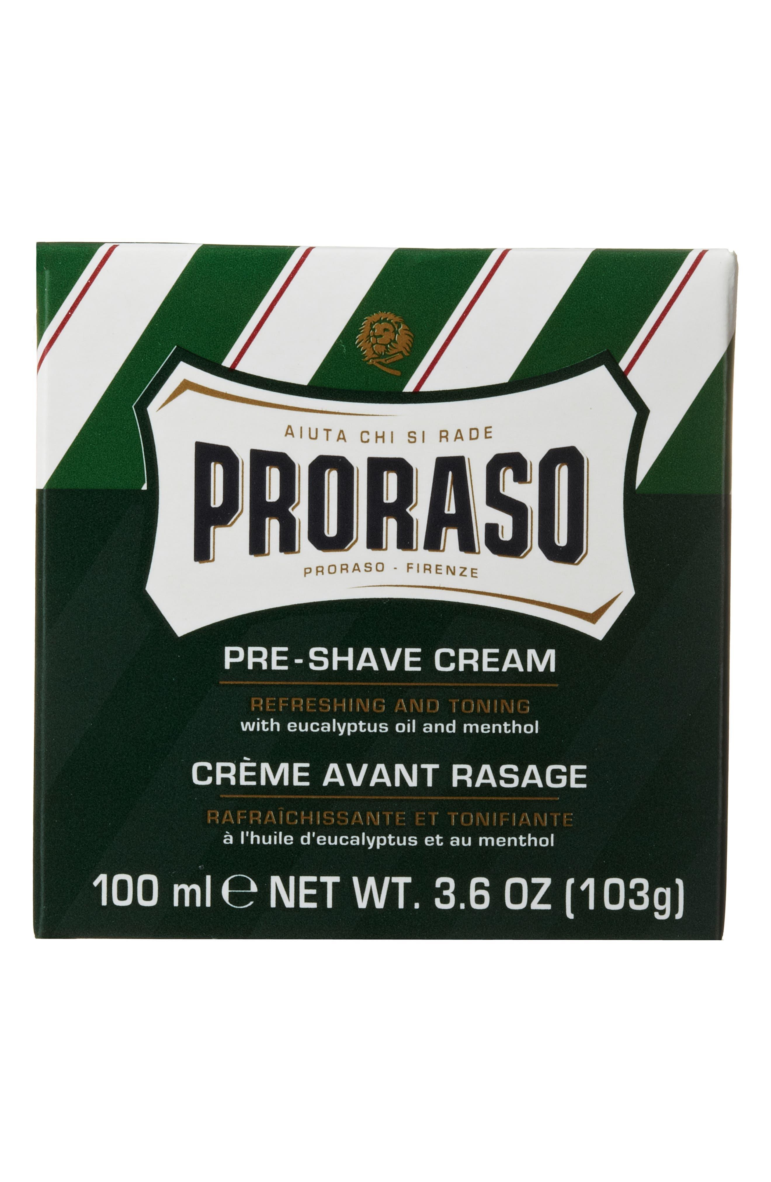 'Proraso' Refresh Pre-Shave Cream,                             Alternate thumbnail 5, color,                             000