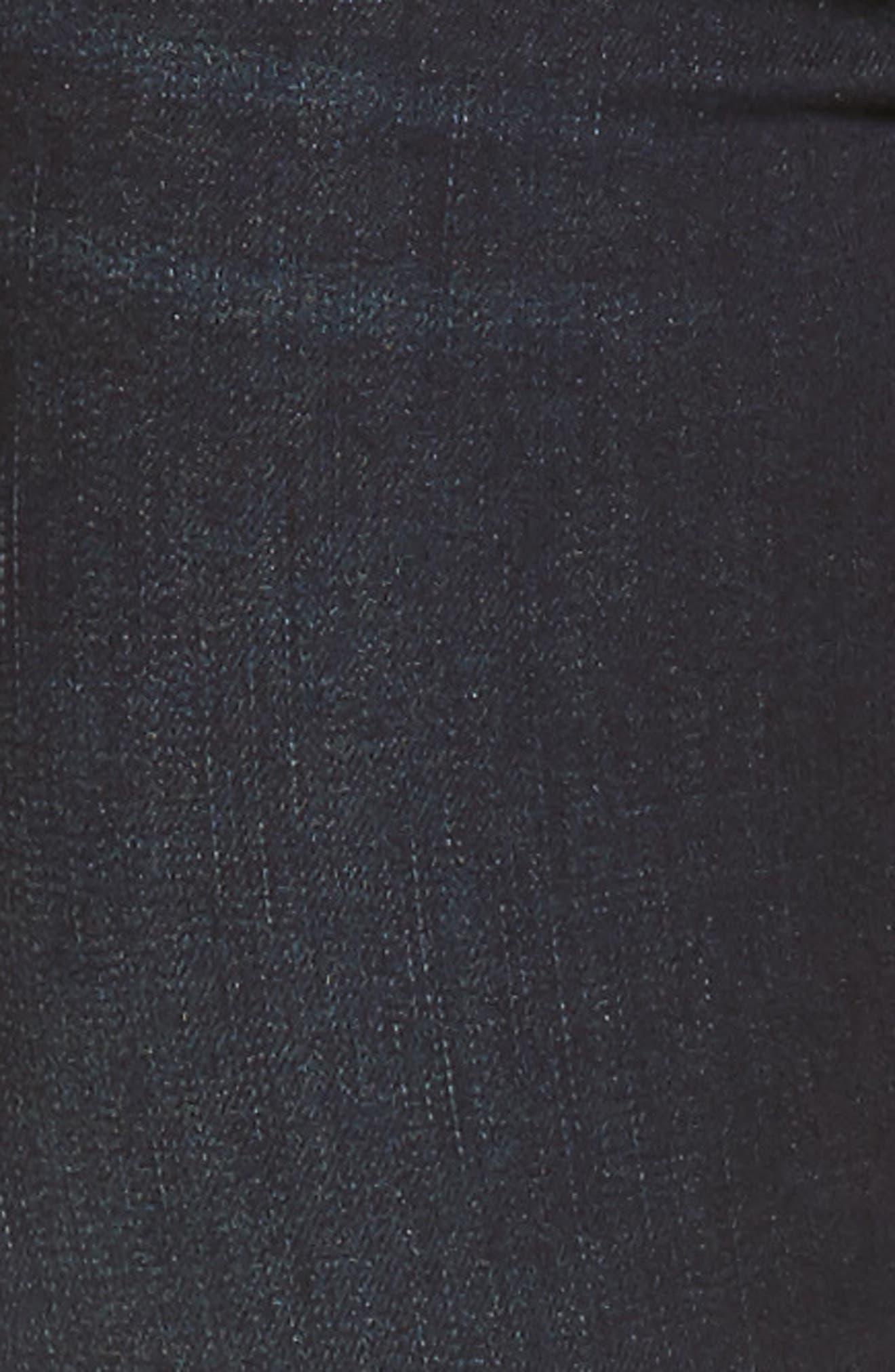 Connie Skinny Ankle Zip Hem Jeans,                             Alternate thumbnail 5, color,                             490