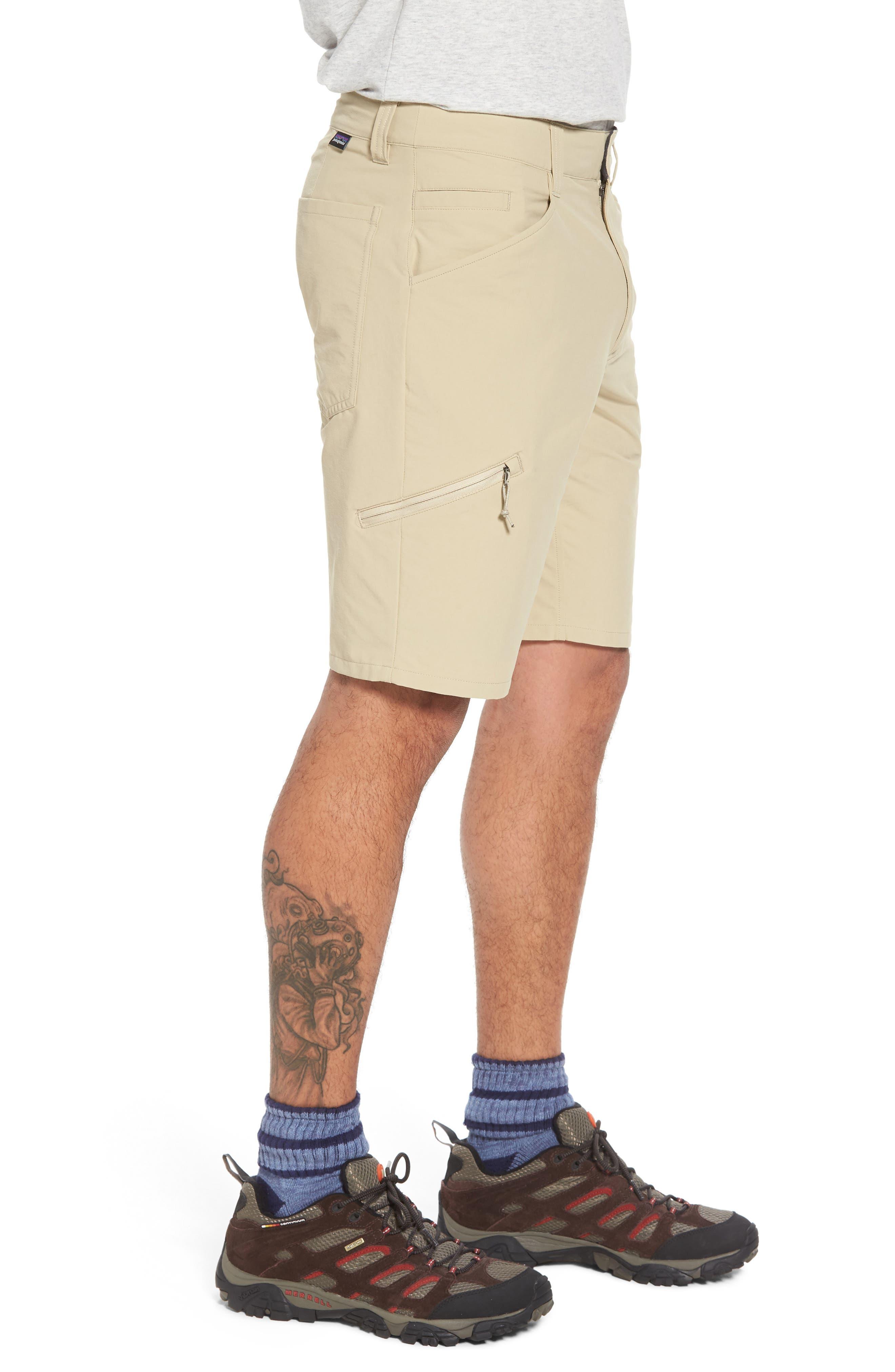 Quandary Shorts,                             Alternate thumbnail 3, color,                             EL CAP KHAKI