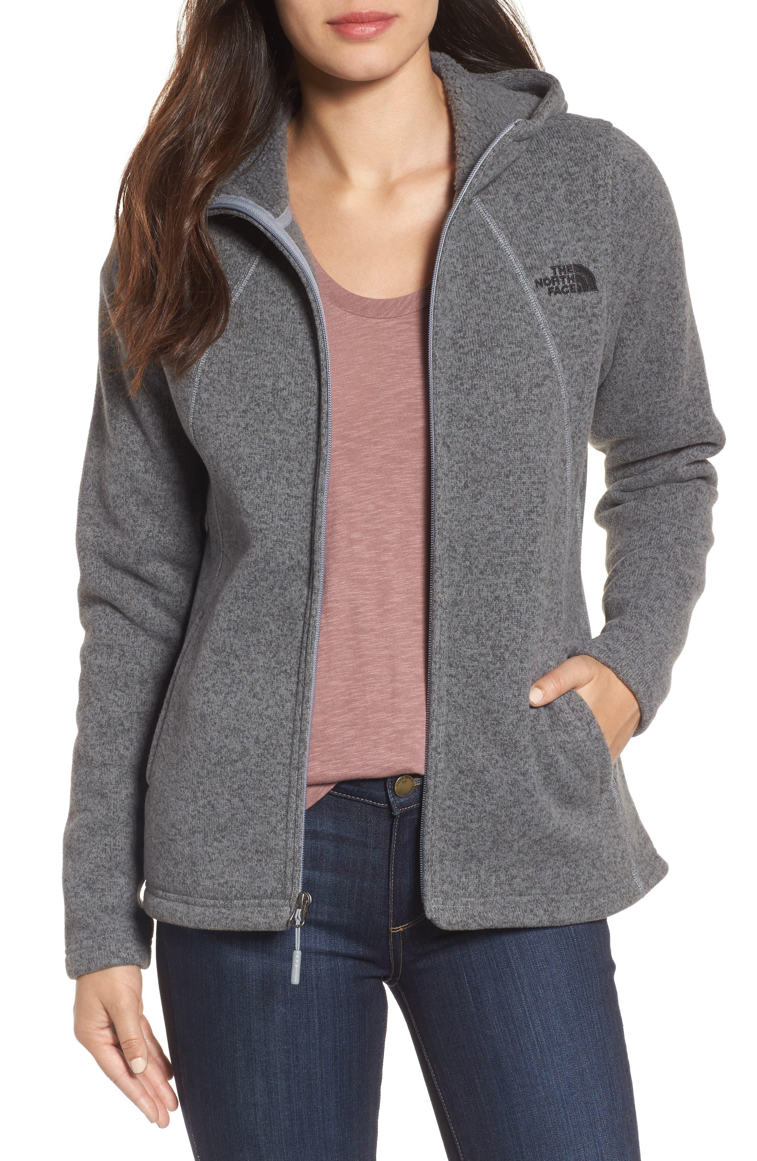 'Crescent' Fleece Jacket,                         Main,                         color, 032