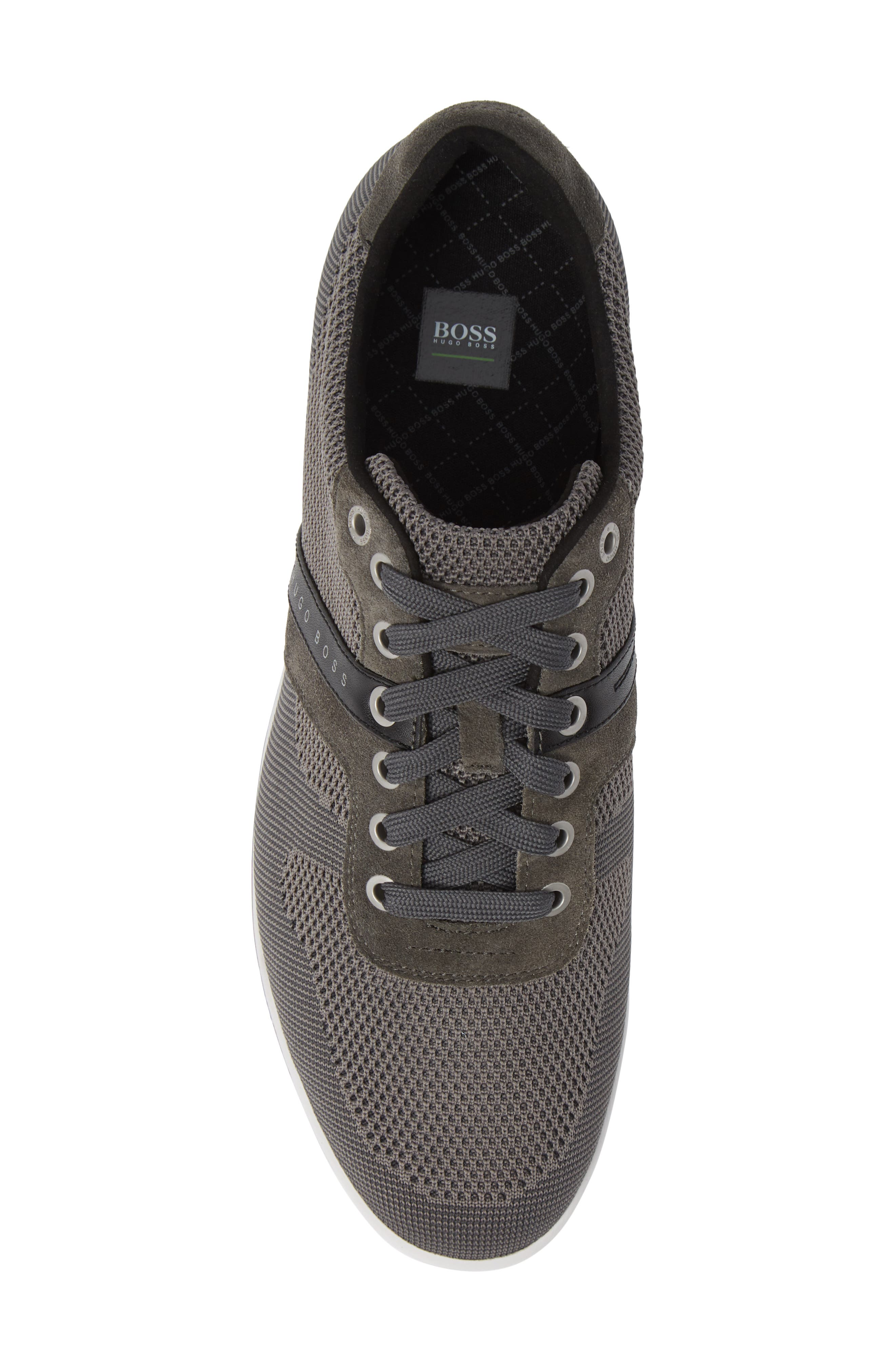 Hugo Boss Arkansas Lace-Up Sneaker,                             Alternate thumbnail 5, color,                             021