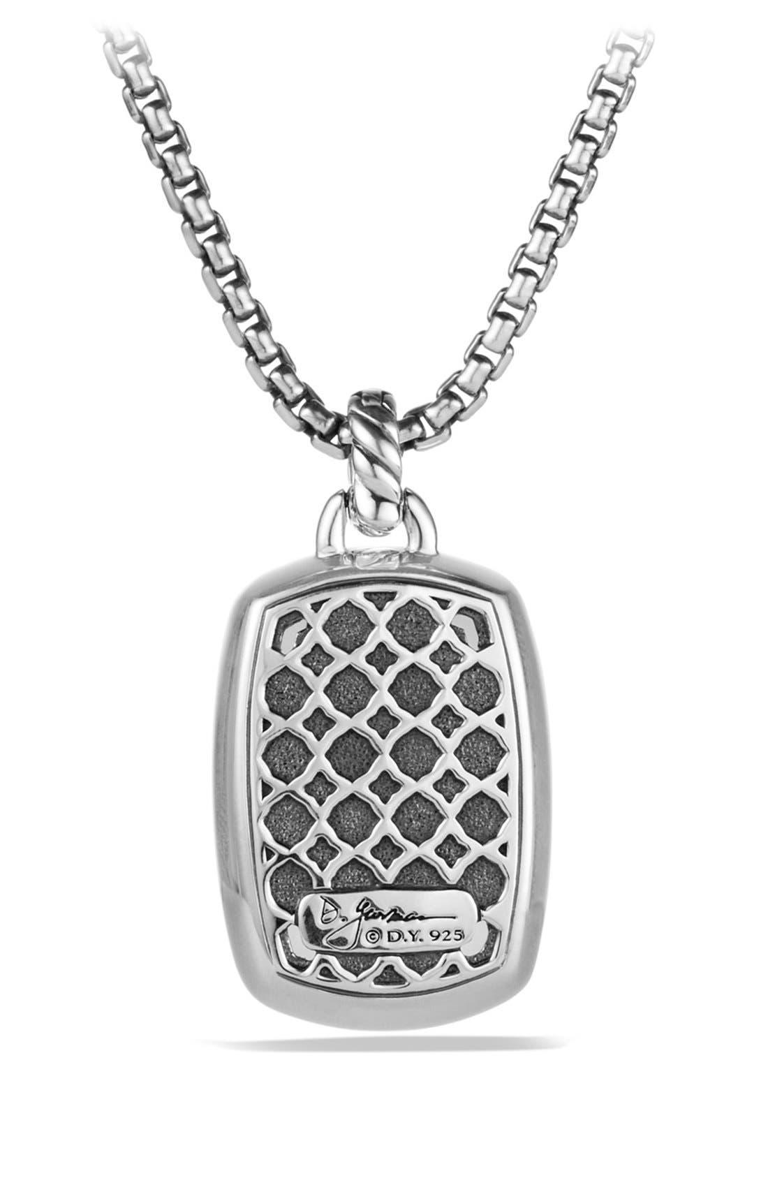 'Albion' Pendant with Semiprecious Stone and Diamonds,                             Alternate thumbnail 13, color,