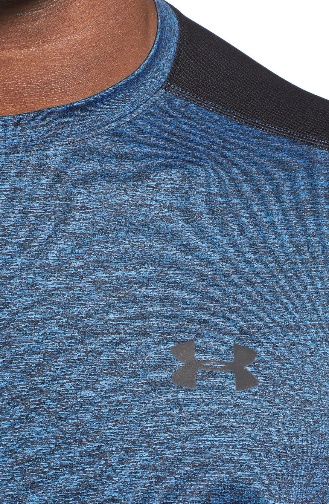 'Raid' HeatGear<sup>®</sup> Training T-Shirt,                             Alternate thumbnail 90, color,