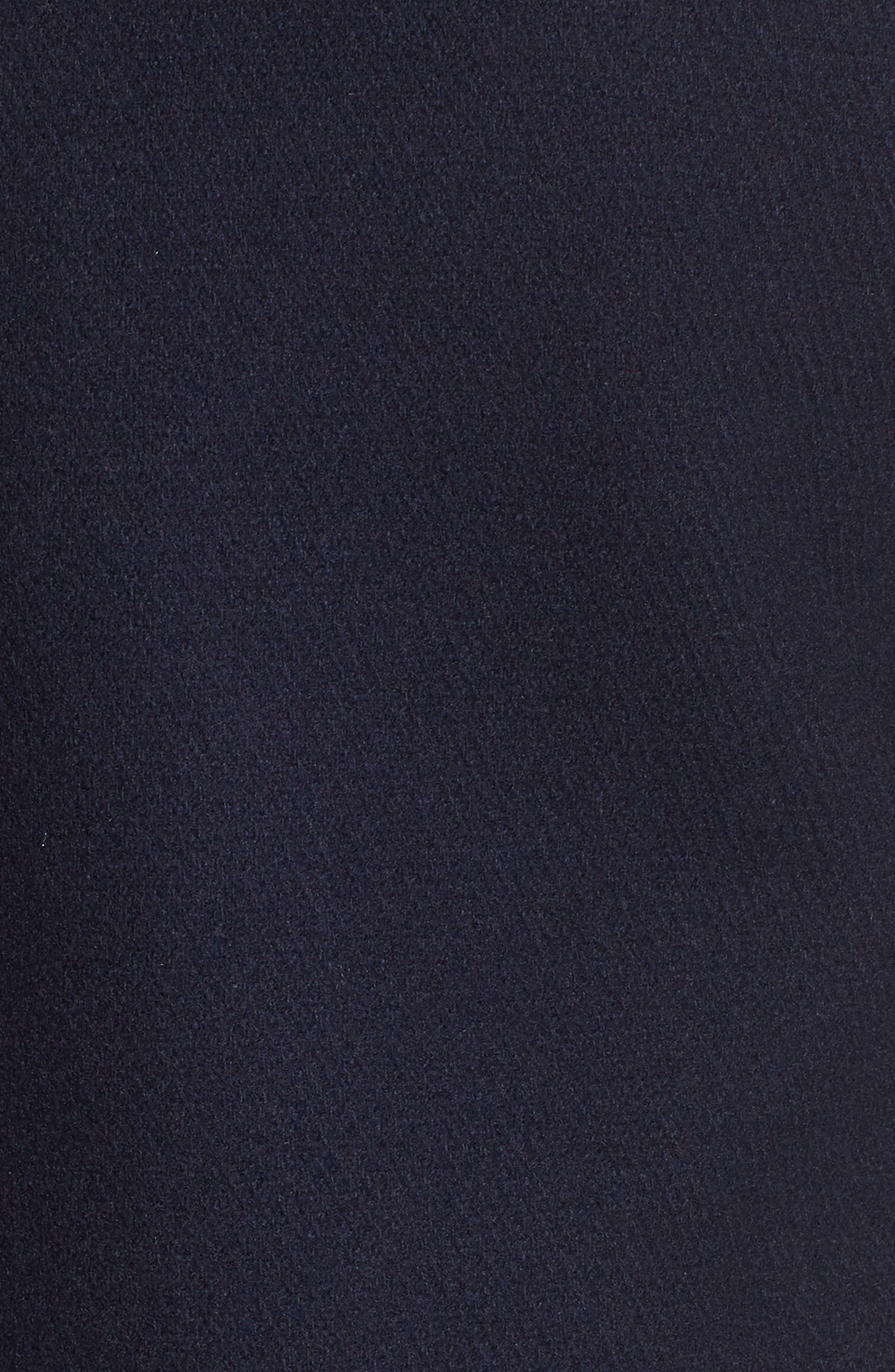 Wool Blend Peacoat,                             Alternate thumbnail 4, color,                             400