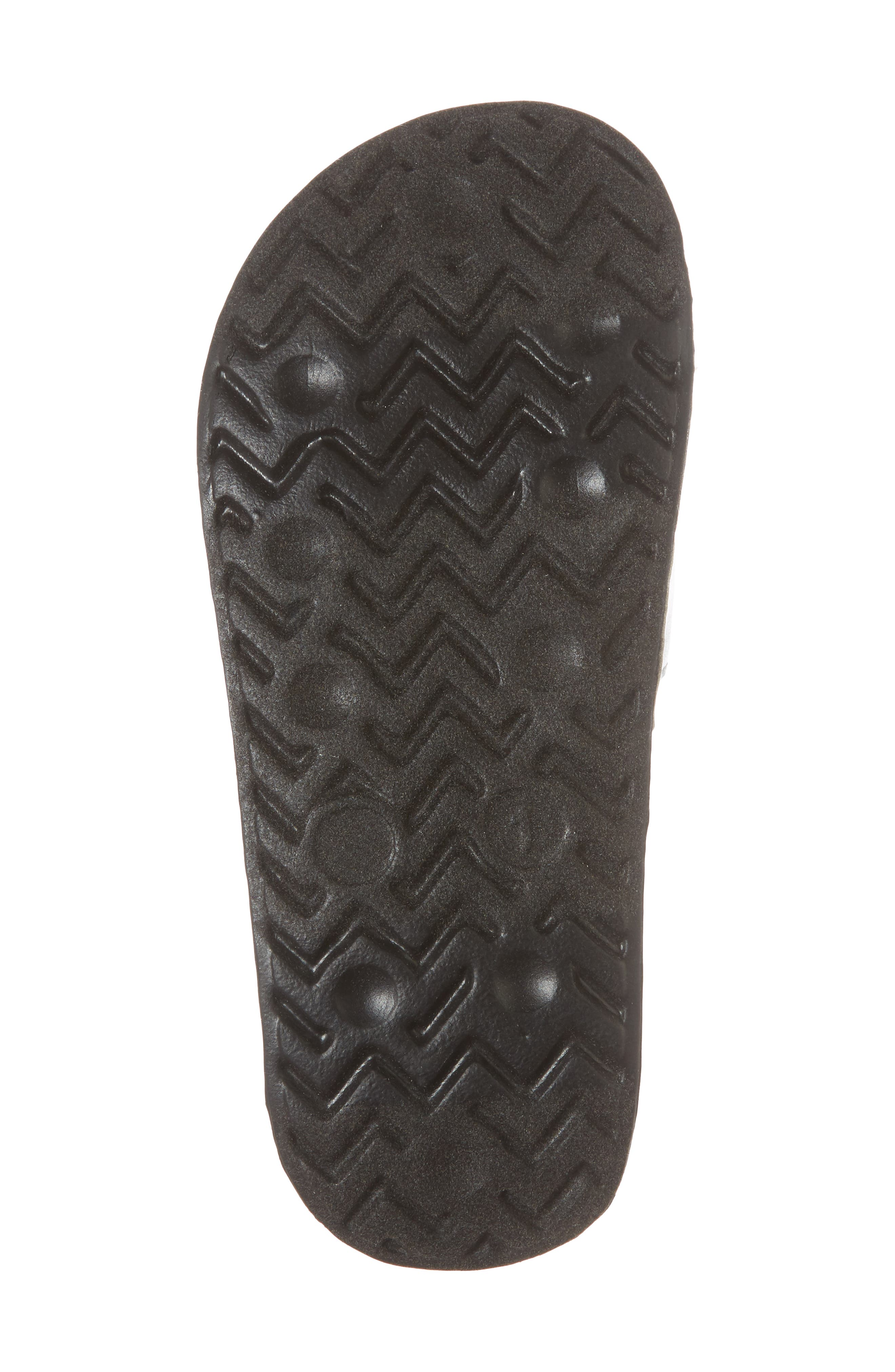 Mackie Pineapple Metallic Slide Sandal,                             Alternate thumbnail 6, color,                             040
