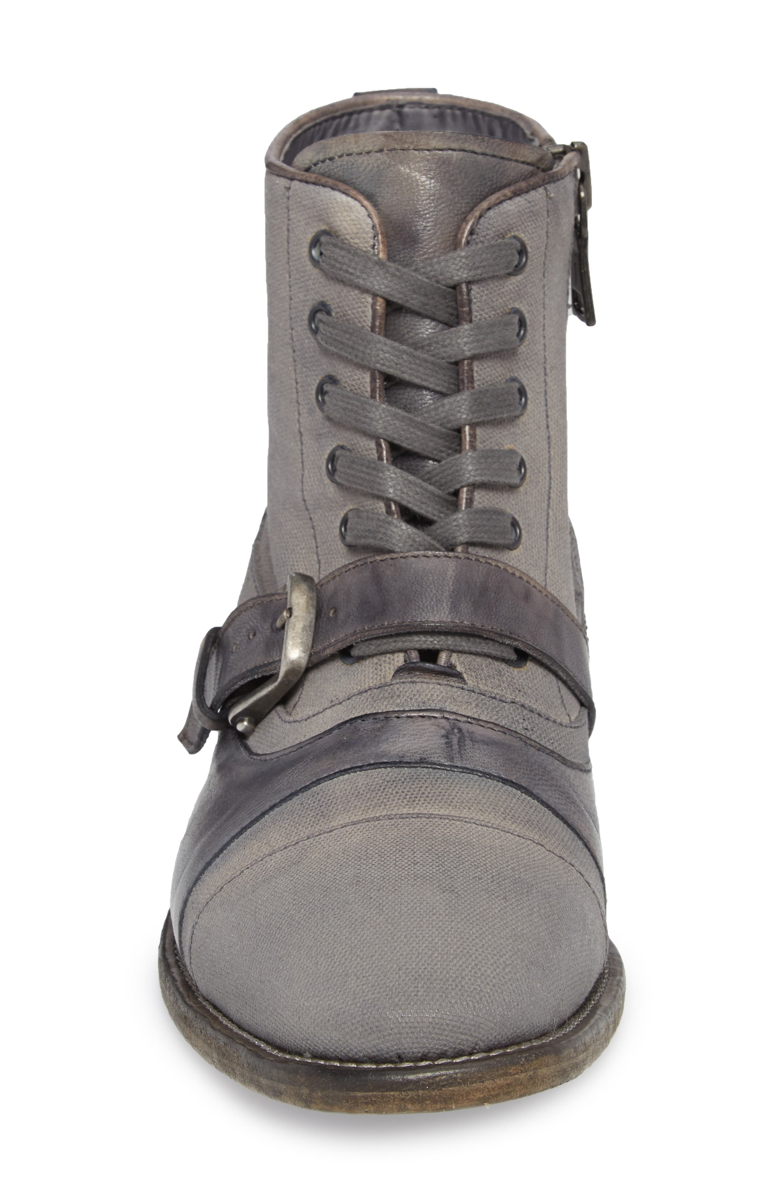 John Varvatos Fleetwood Buckle Cricket Boot,                             Alternate thumbnail 4, color,