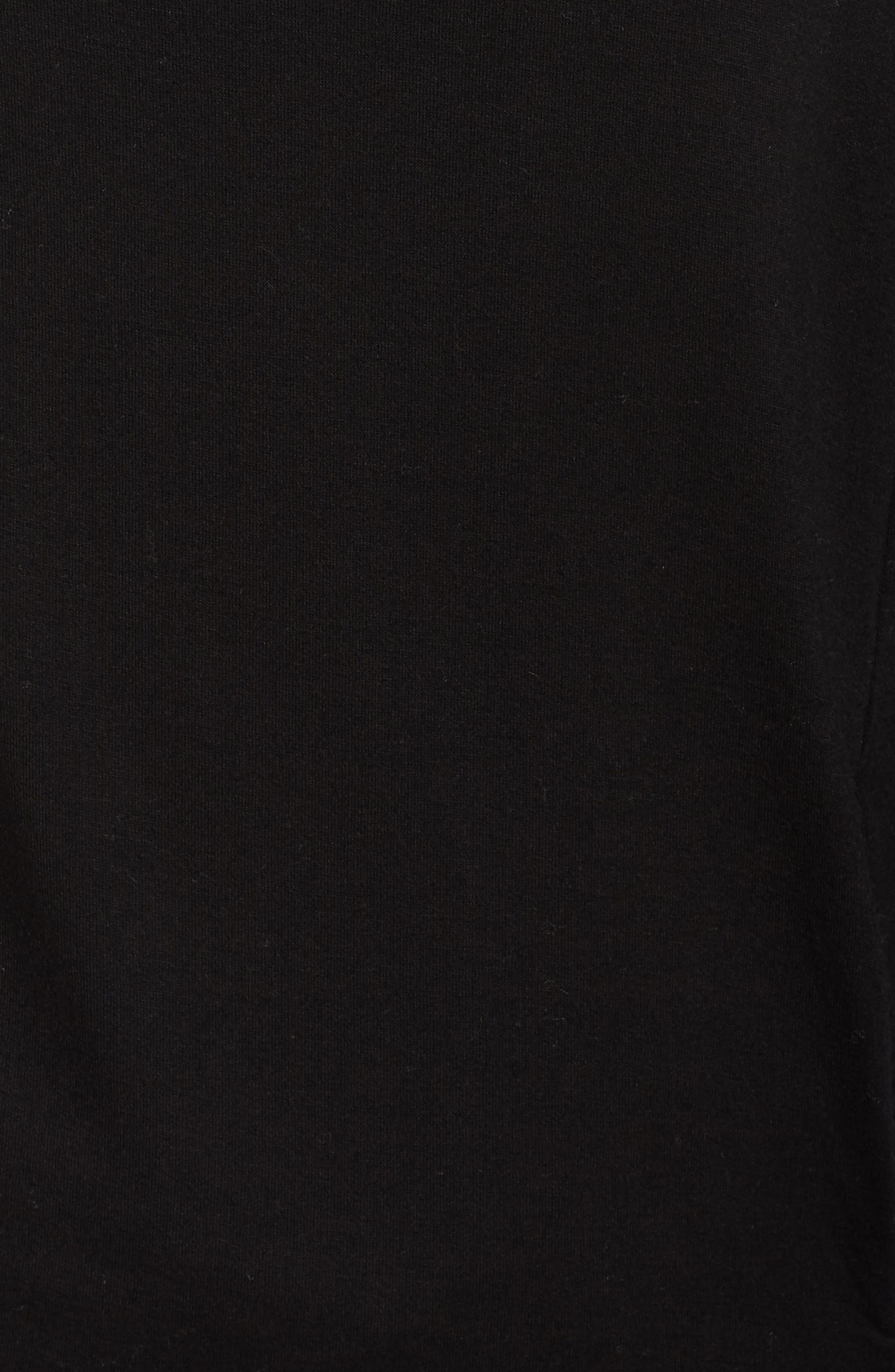 Grateful Cowl Neck Pullover,                             Alternate thumbnail 6, color,                             BLACK SAND