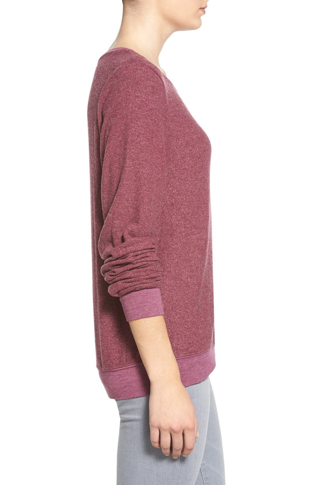 'Baggy Beach Jumper' Pullover,                             Alternate thumbnail 138, color,