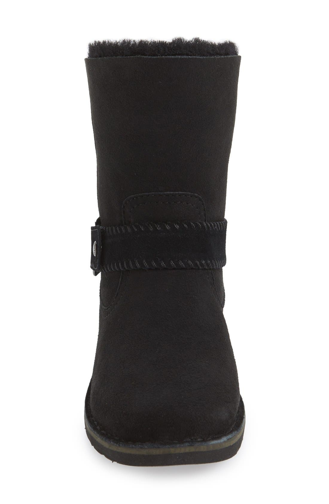 Cedric Water Resistant Boot,                             Alternate thumbnail 3, color,                             001
