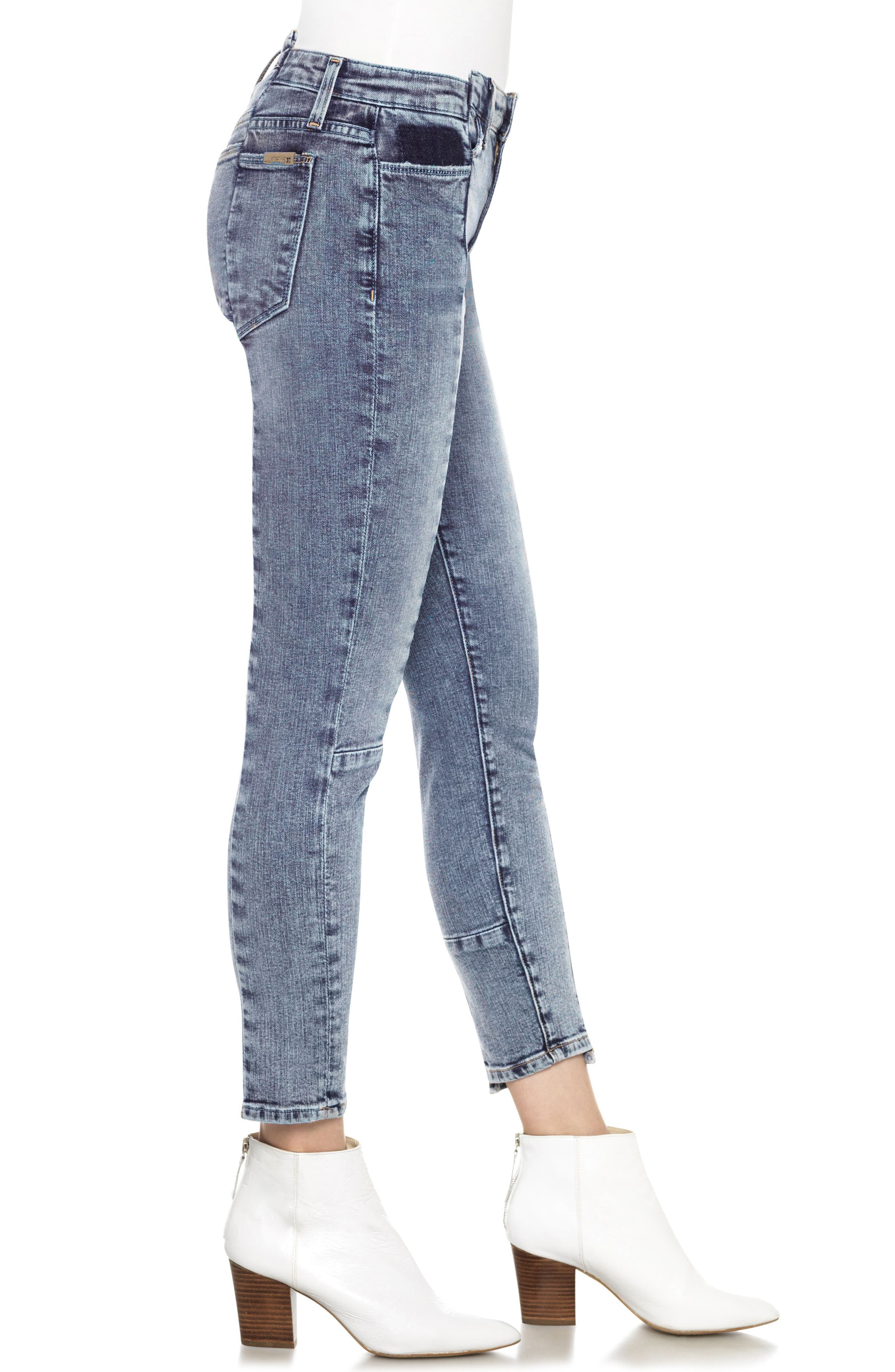 Smith Skinny Ankle Jeans,                             Alternate thumbnail 3, color,                             010