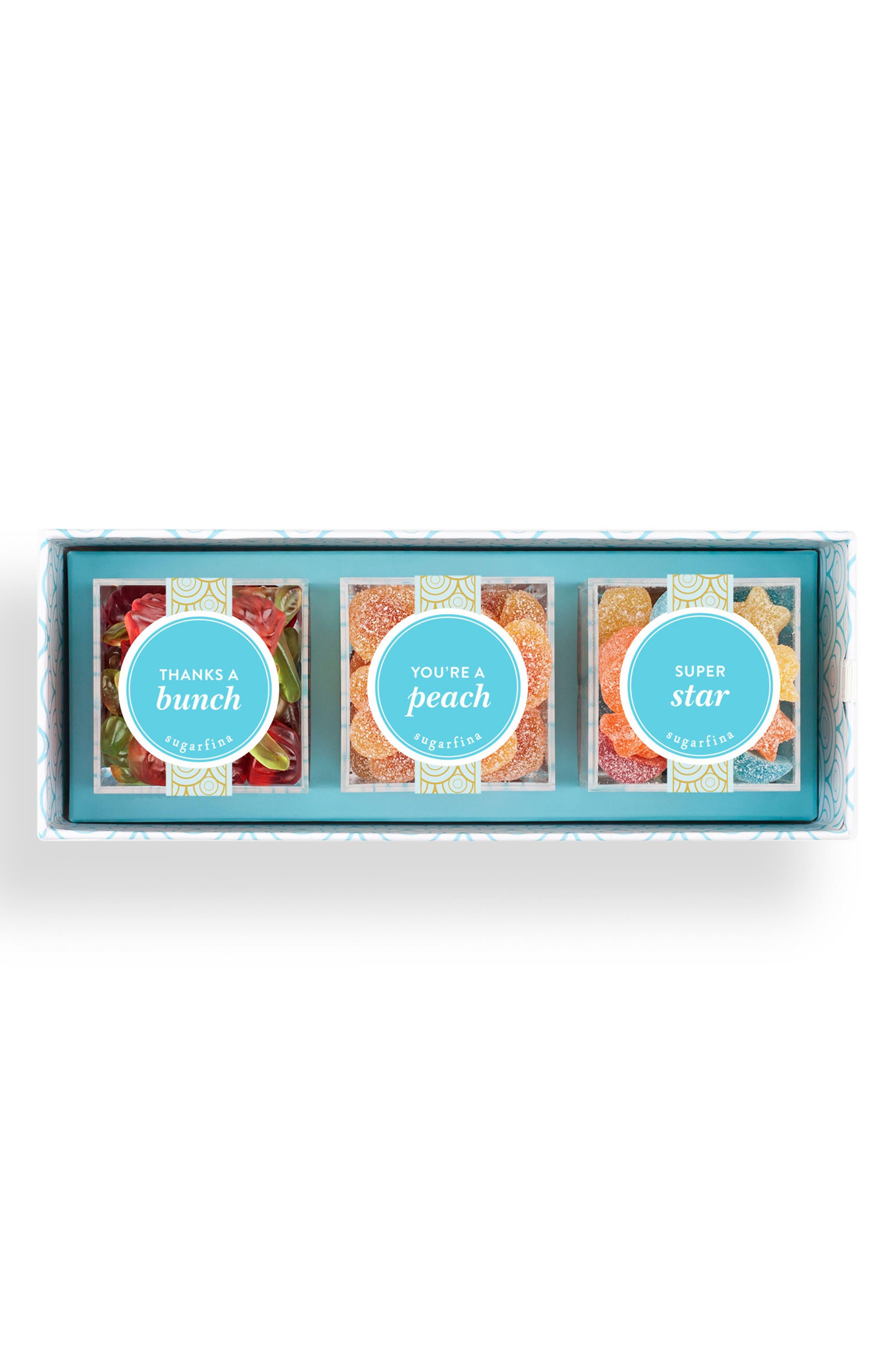 Thank You 3-Piece Candy Bento Box,                             Main thumbnail 1, color,                             700