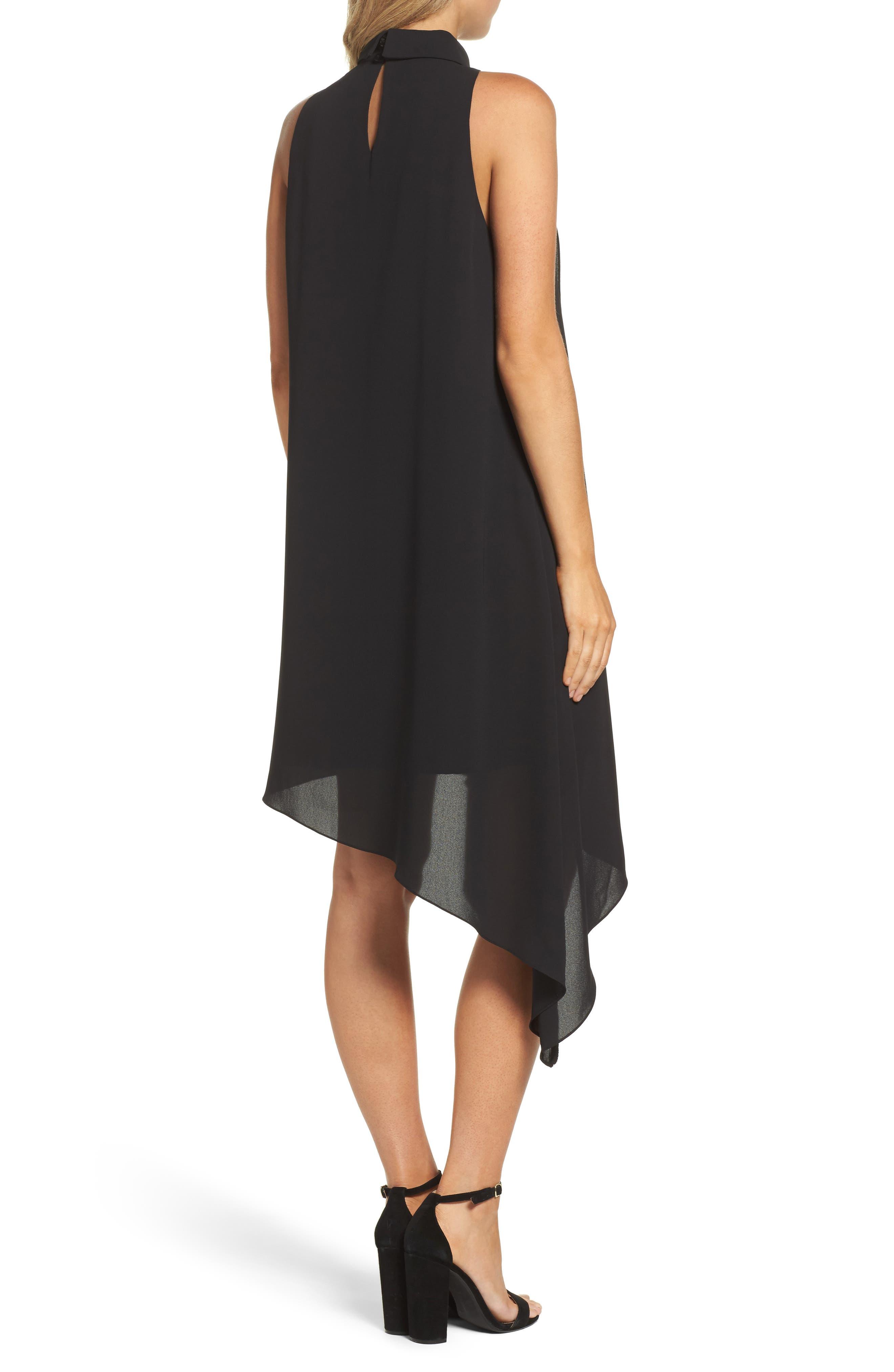 Asymmetric Hem Shift Dress,                             Alternate thumbnail 5, color,