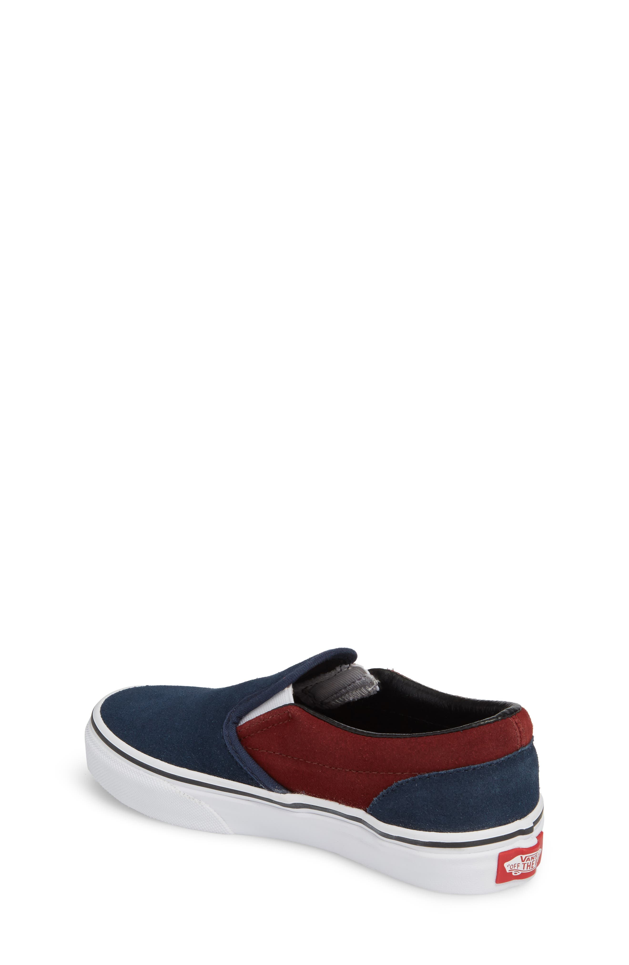 Classic Slip-On Sneaker,                             Alternate thumbnail 2, color,                             401