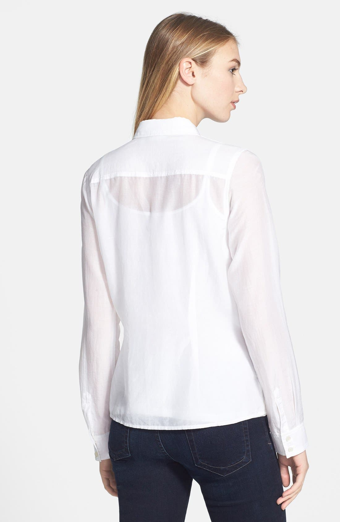 Cotton & Silk Shirt,                             Alternate thumbnail 56, color,