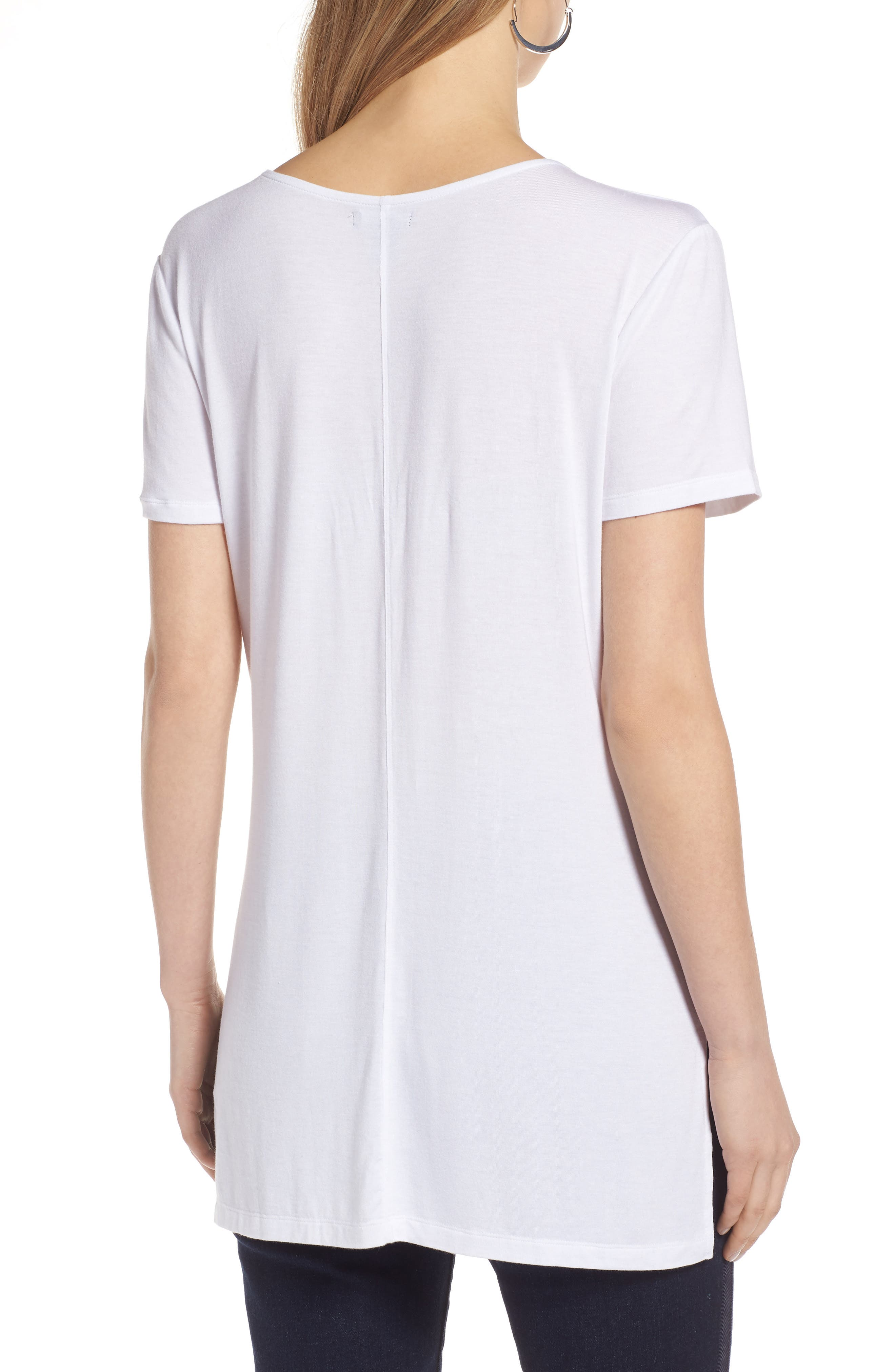 V-Neck Tunic Tee,                             Alternate thumbnail 20, color,