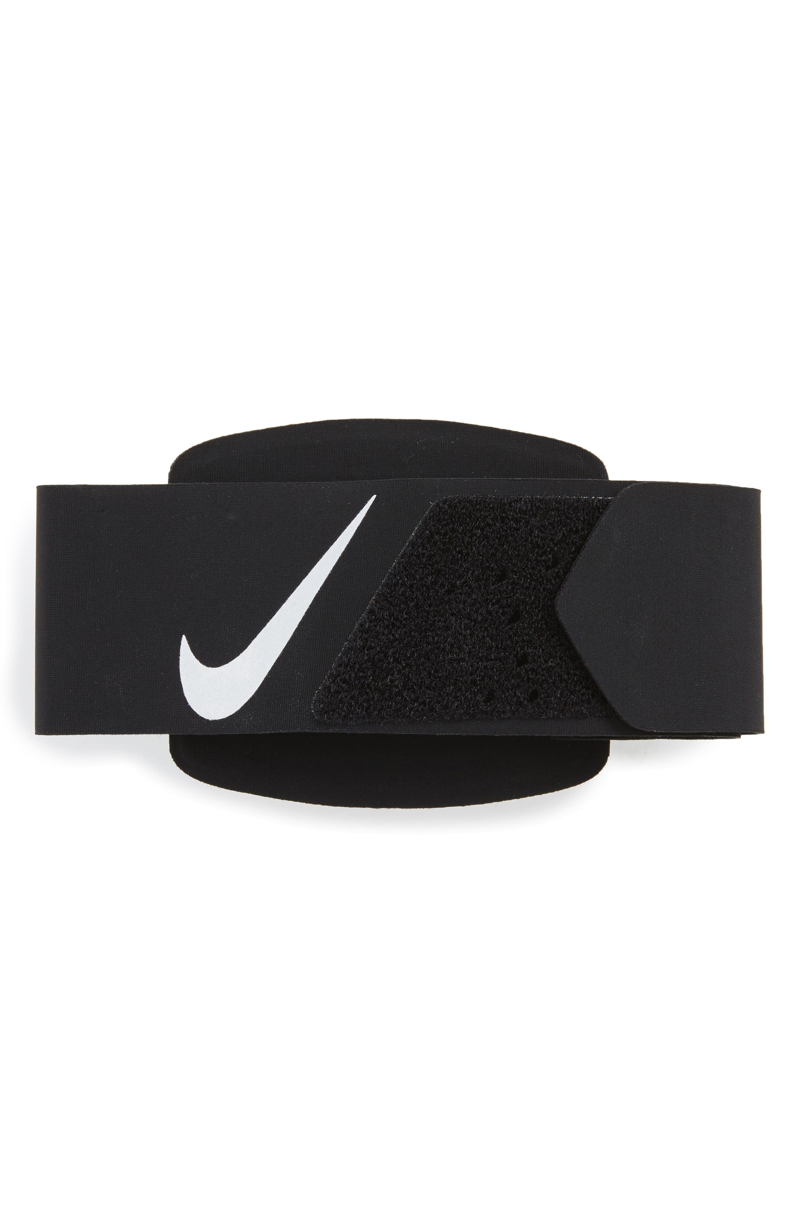 Universal Running Armband,                             Alternate thumbnail 2, color,                             BLACK/ CLEAR/ SILVER