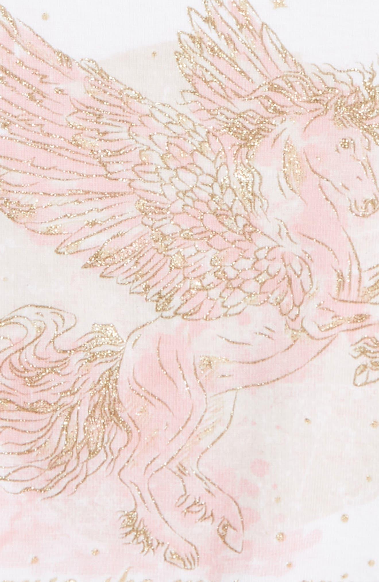 Pegasus Organic Cotton Tee,                             Alternate thumbnail 2, color,                             WHITE