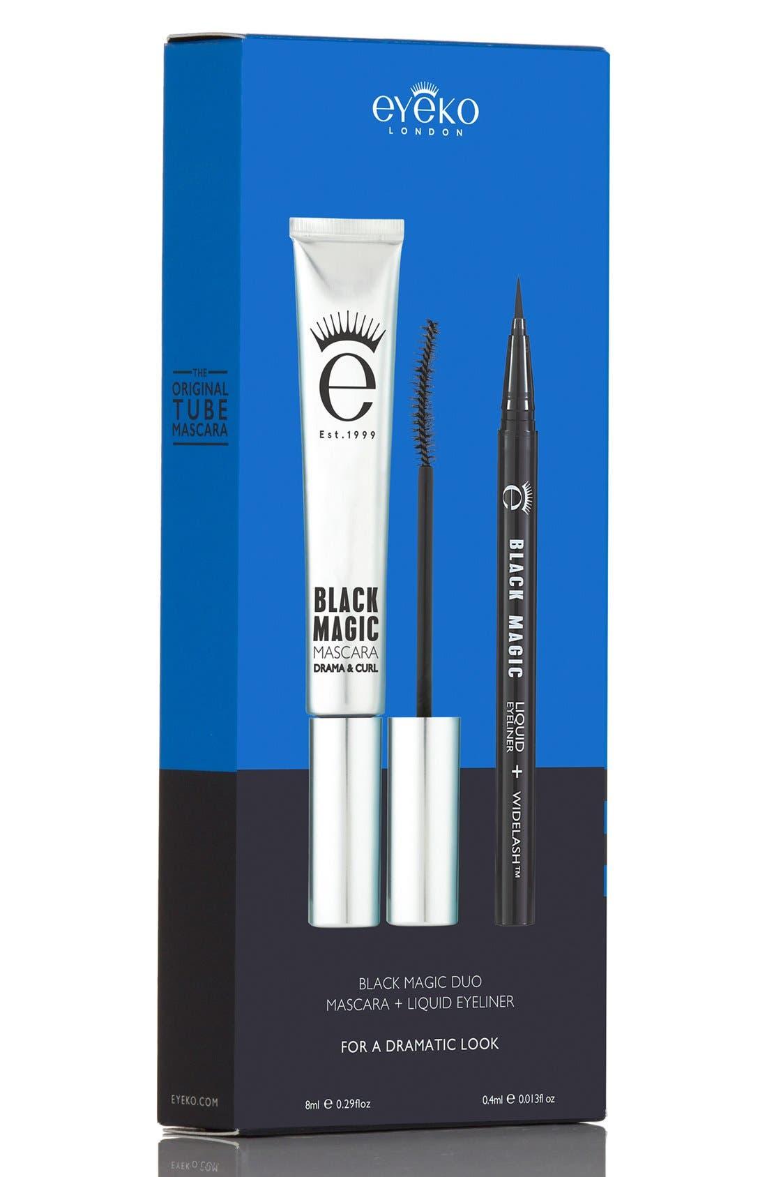 Black Magic Mascara & Liquid Eyeliner Duo,                             Alternate thumbnail 4, color,                             000