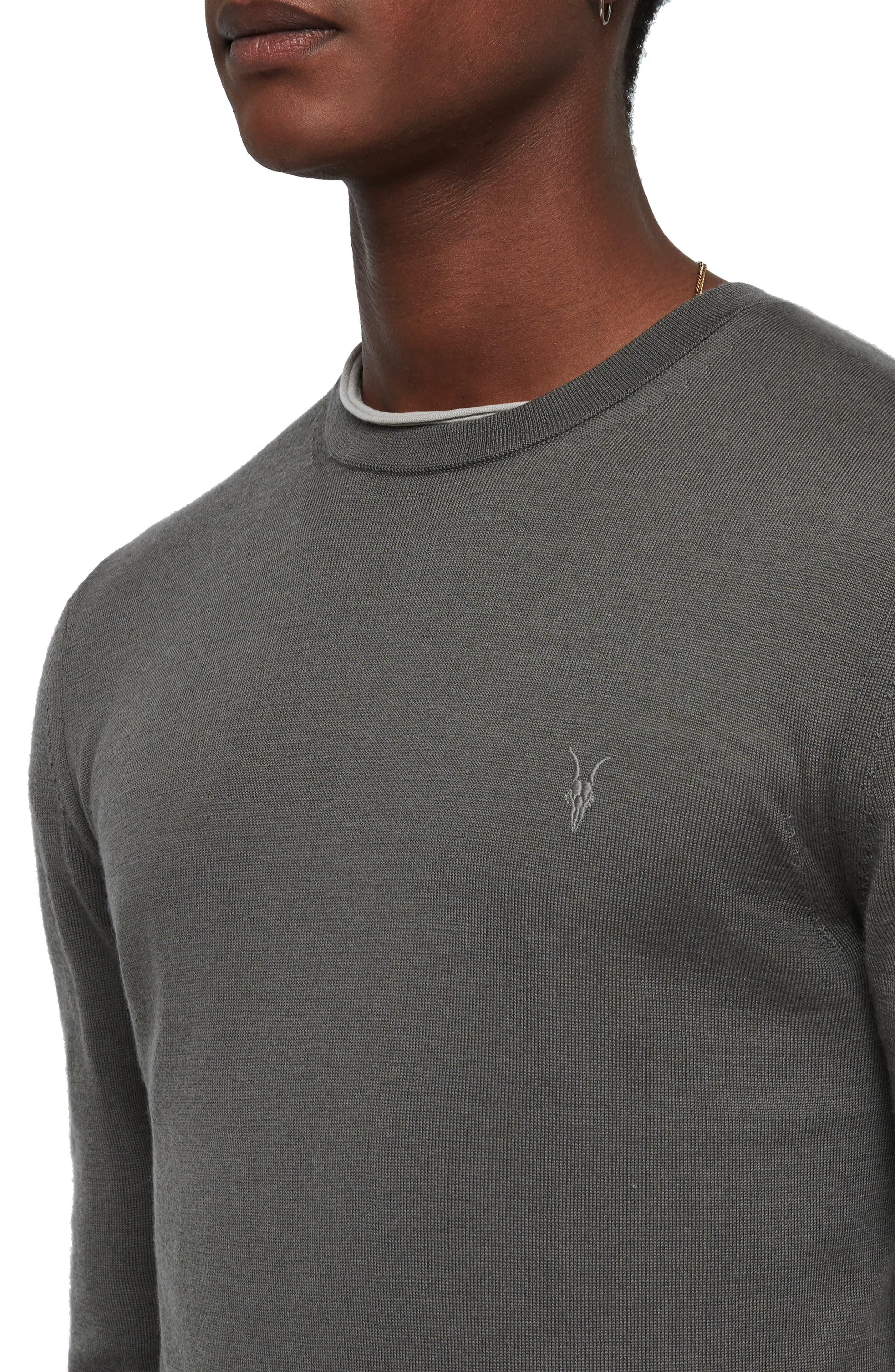 Mode Slim Fit Merino Wool Sweater,                             Alternate thumbnail 16, color,