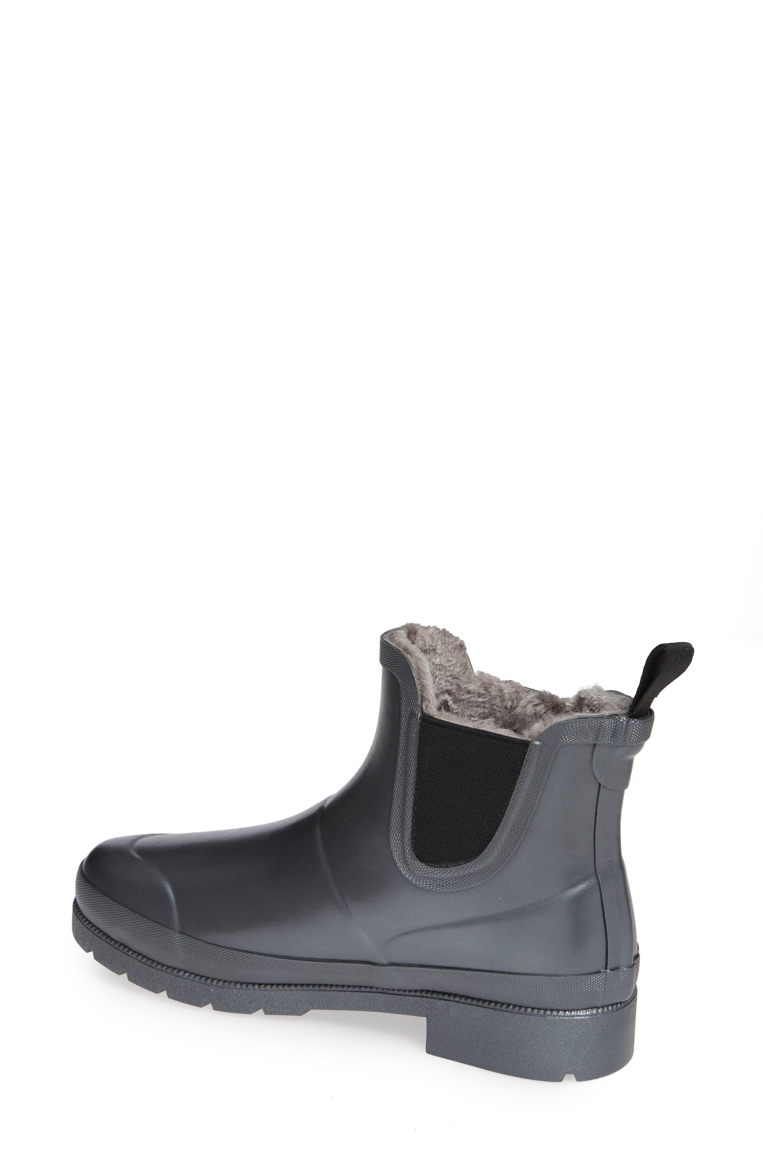 Chelsea Rain Boot,                             Alternate thumbnail 2, color,                             PEWTER