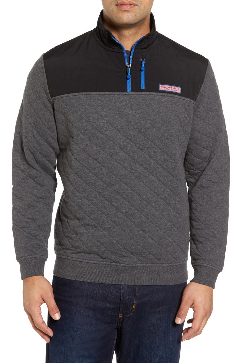 Vineyard Vines Quilted Quarter Zip Pullover Nordstrom