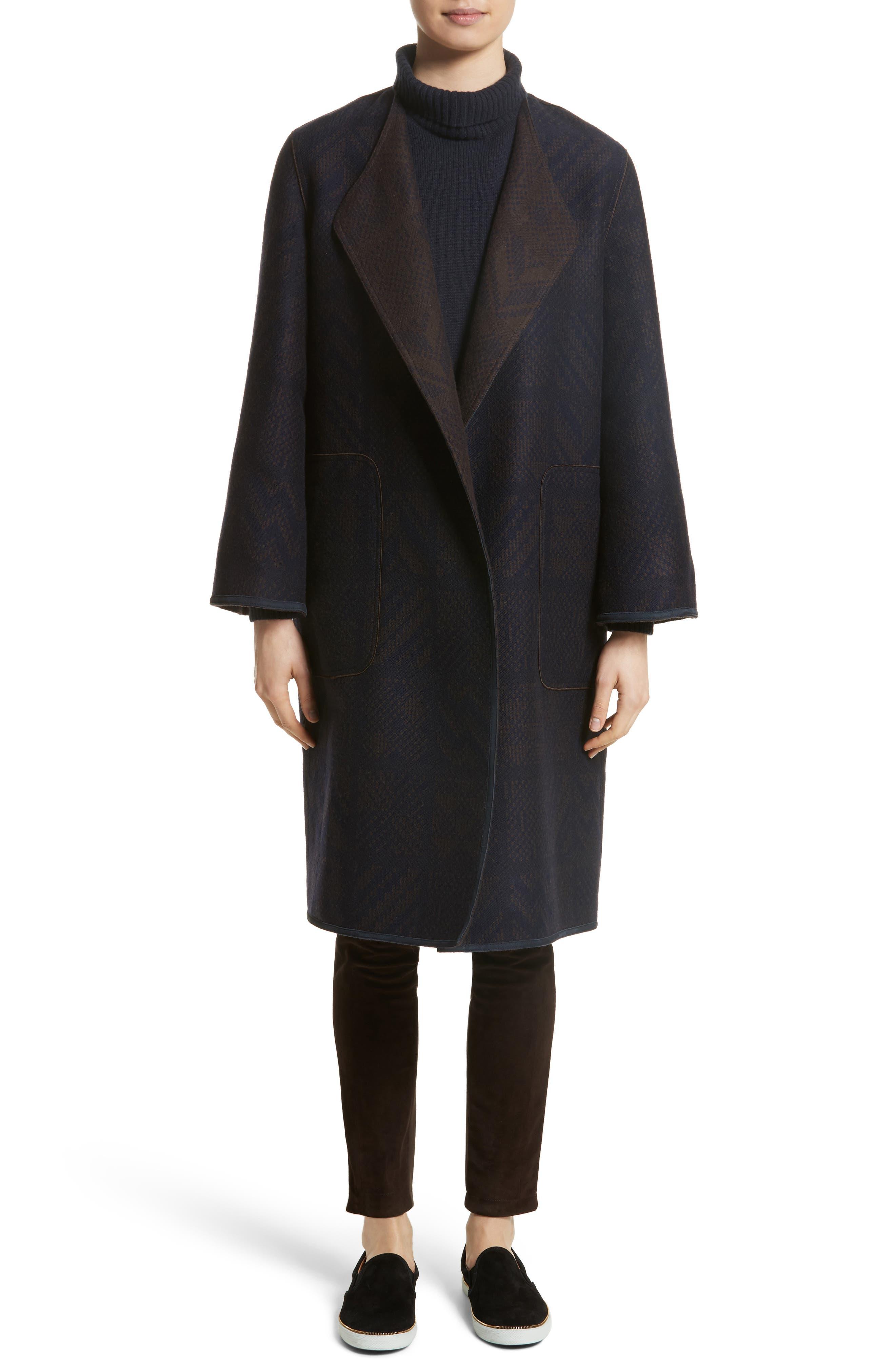 McCall Reversible Coat,                             Alternate thumbnail 8, color,                             438