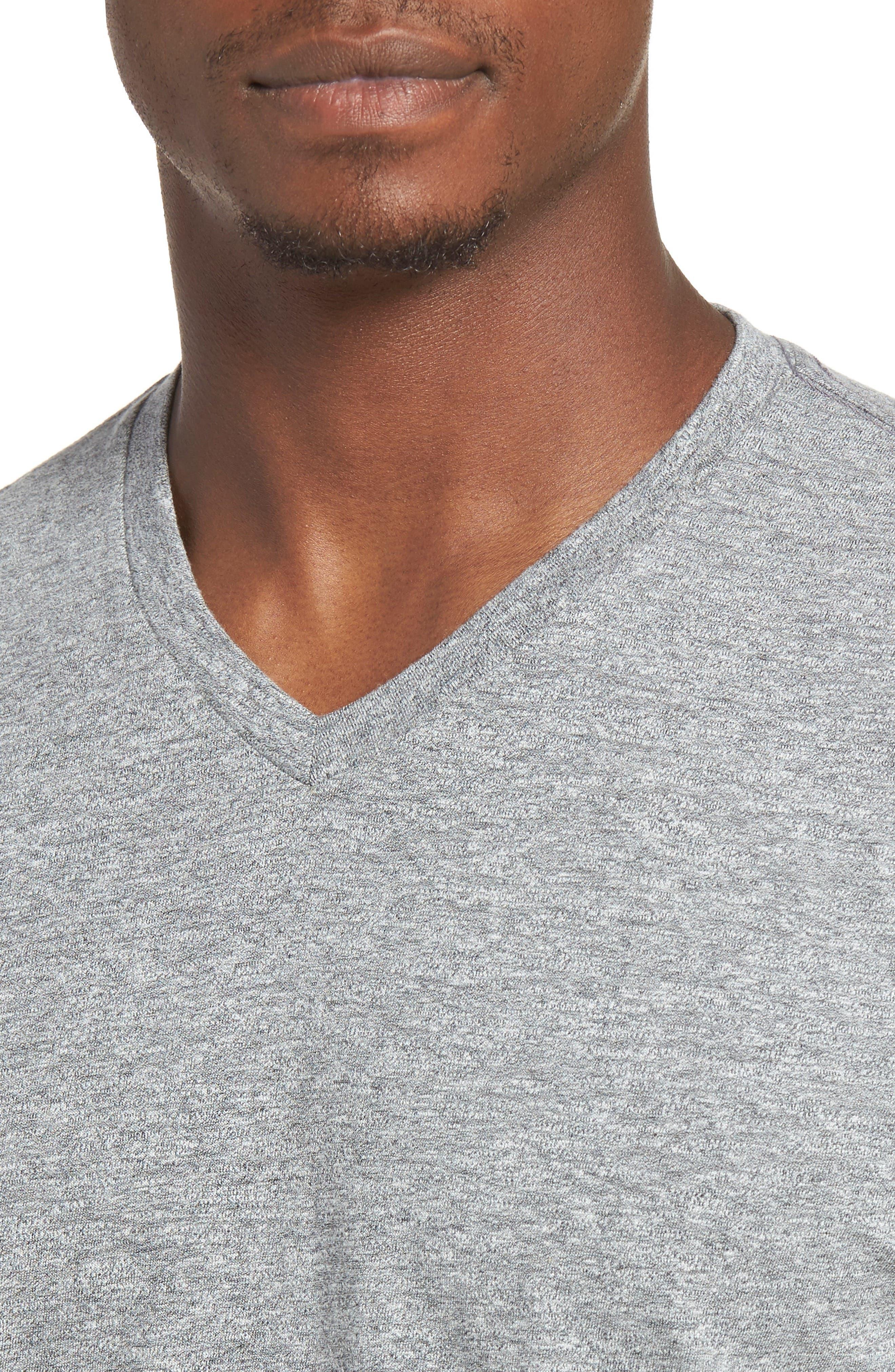 Essential V-Neck T-Shirt,                             Alternate thumbnail 35, color,