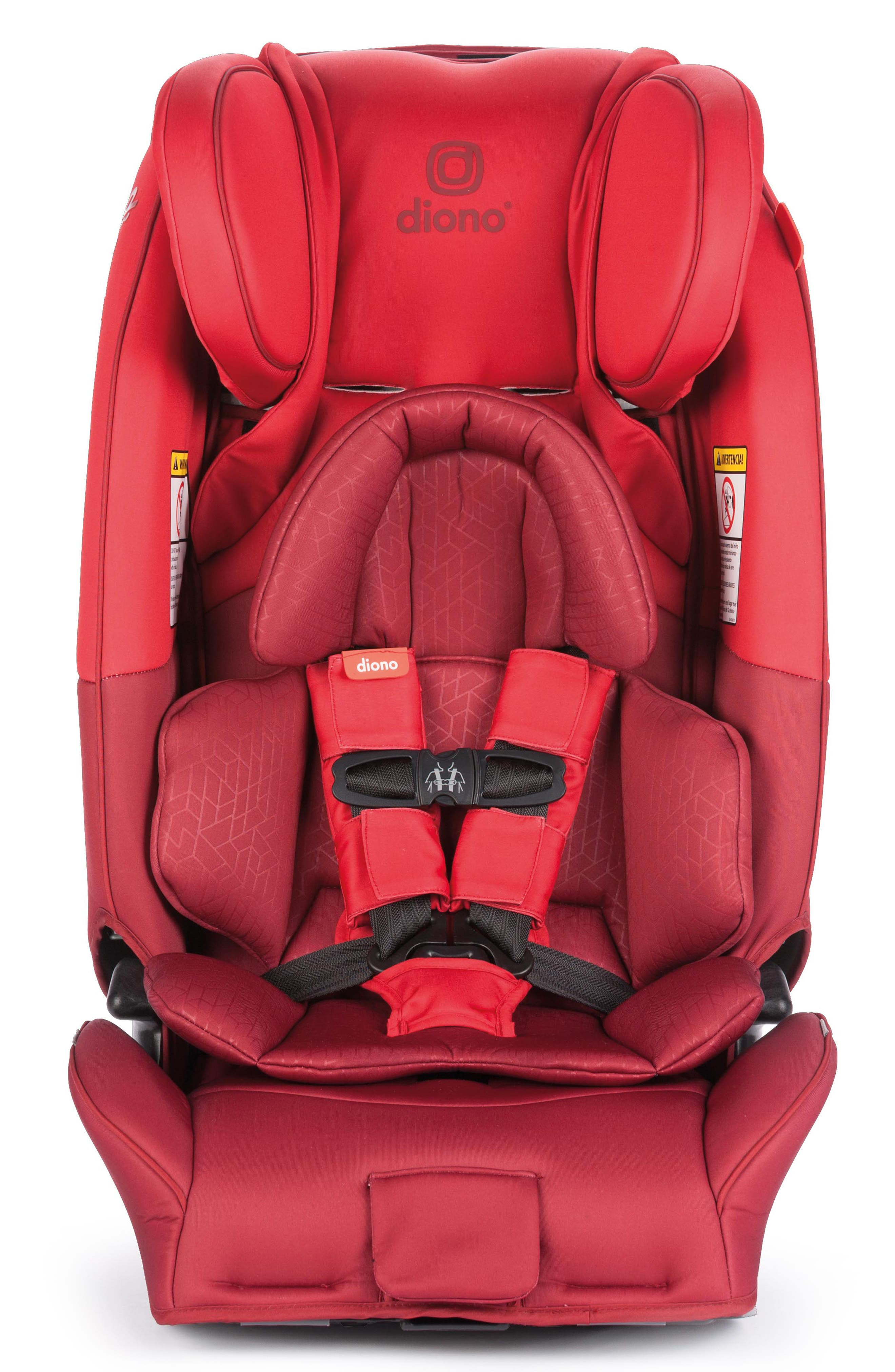 Infant Diono Radian 3 Rxt Rear  Forward Facing Car Seat Size One Size  Red