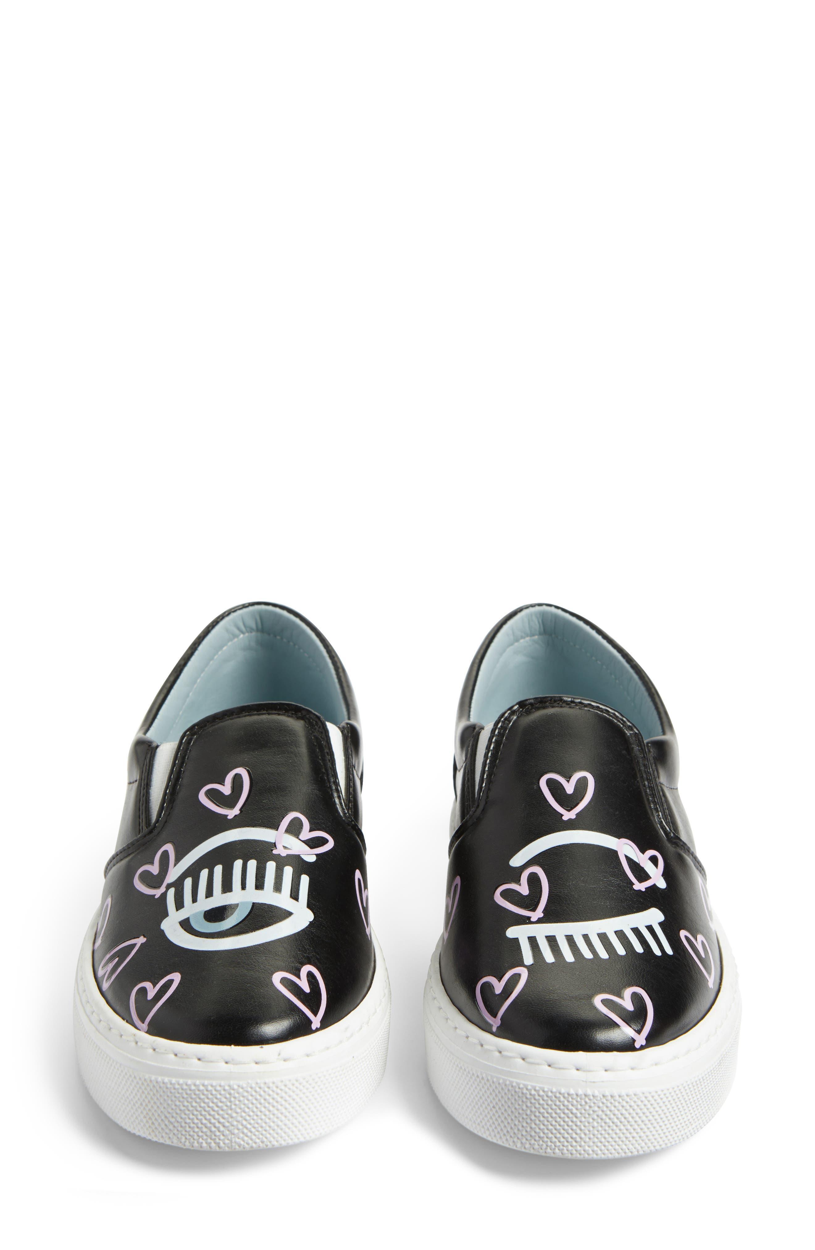 Candy Flirting Slip-On Sneaker,                             Alternate thumbnail 5, color,                             001