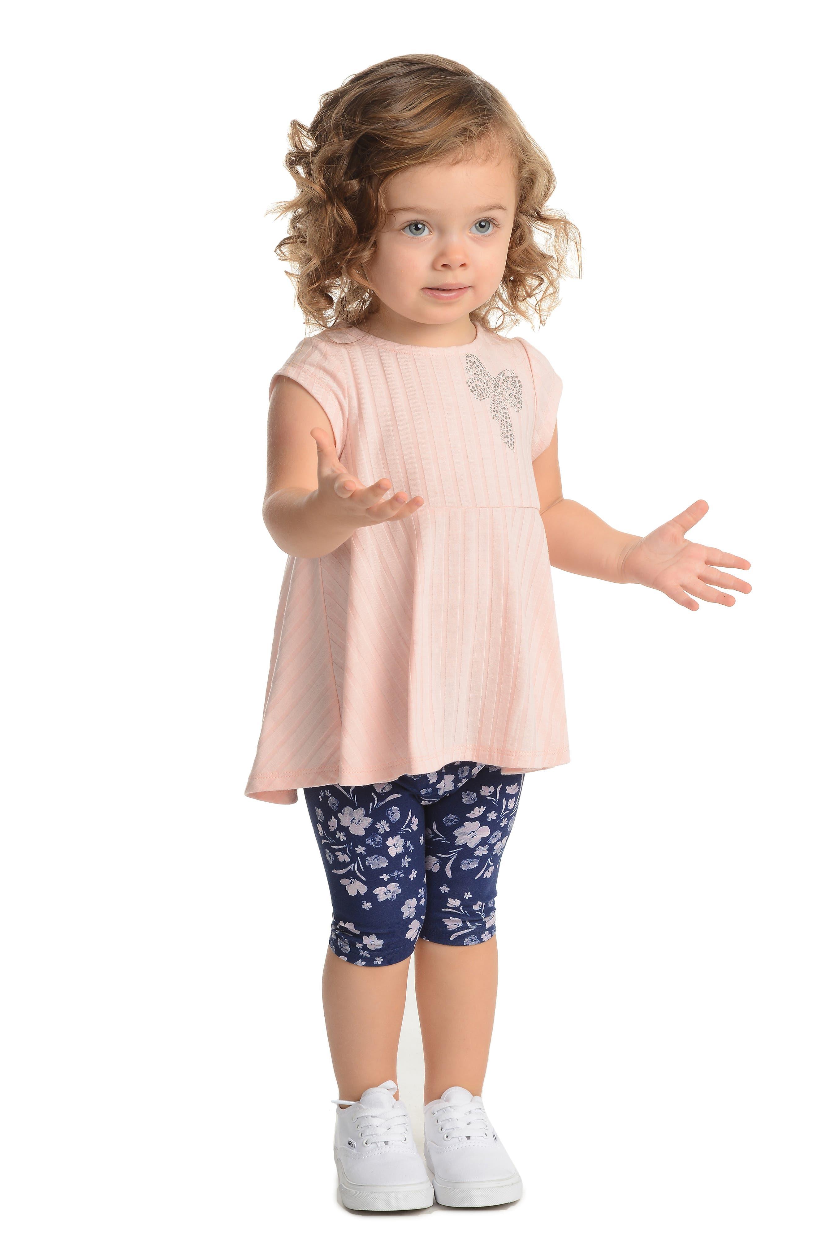 PASTOURELLE BY PIPPA & JULIE,                             Dress & Leggings Set,                             Alternate thumbnail 2, color,                             LT PINK