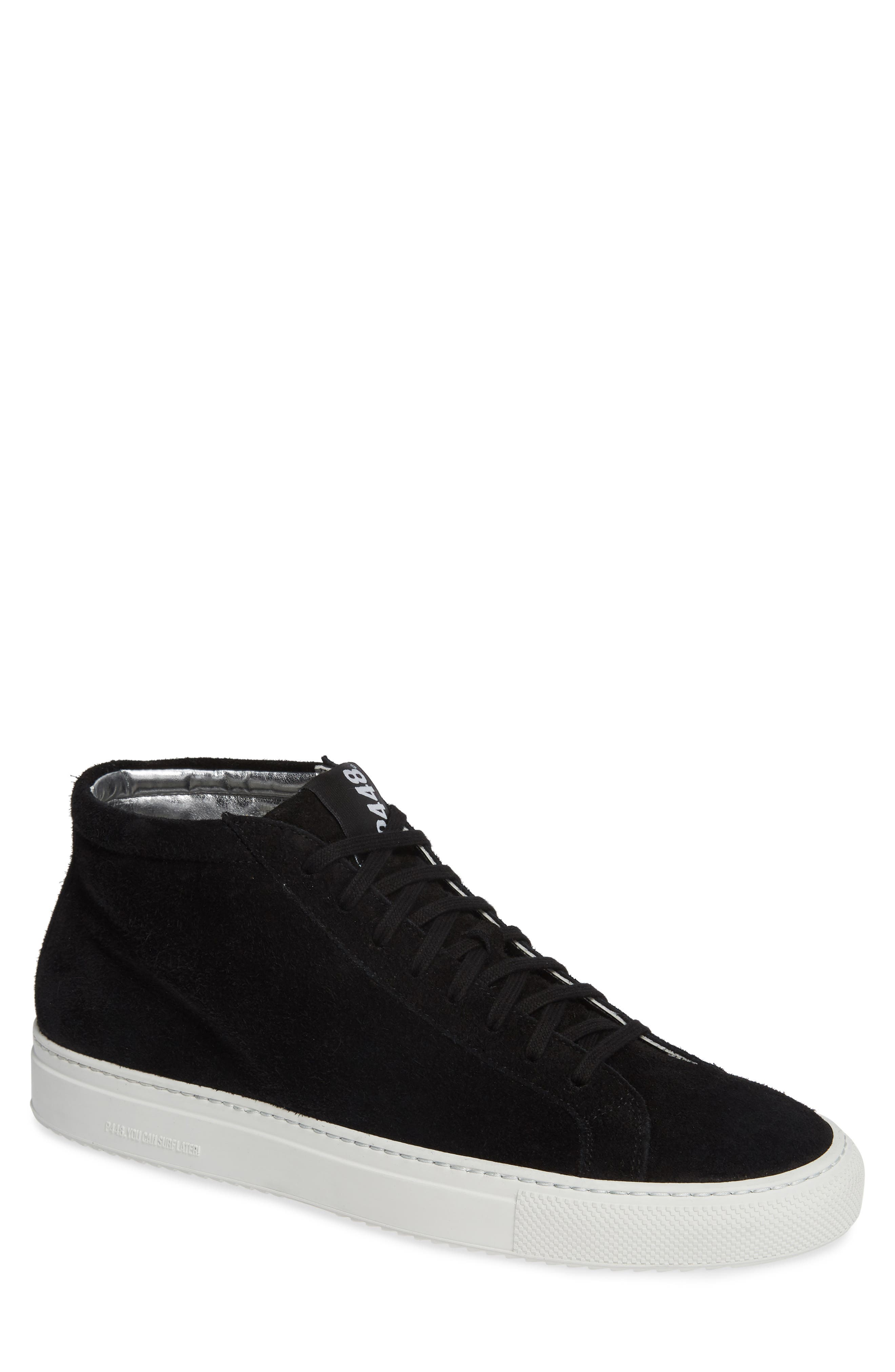A8Elevent Mid Sneaker,                         Main,                         color, BLACK BRUSH
