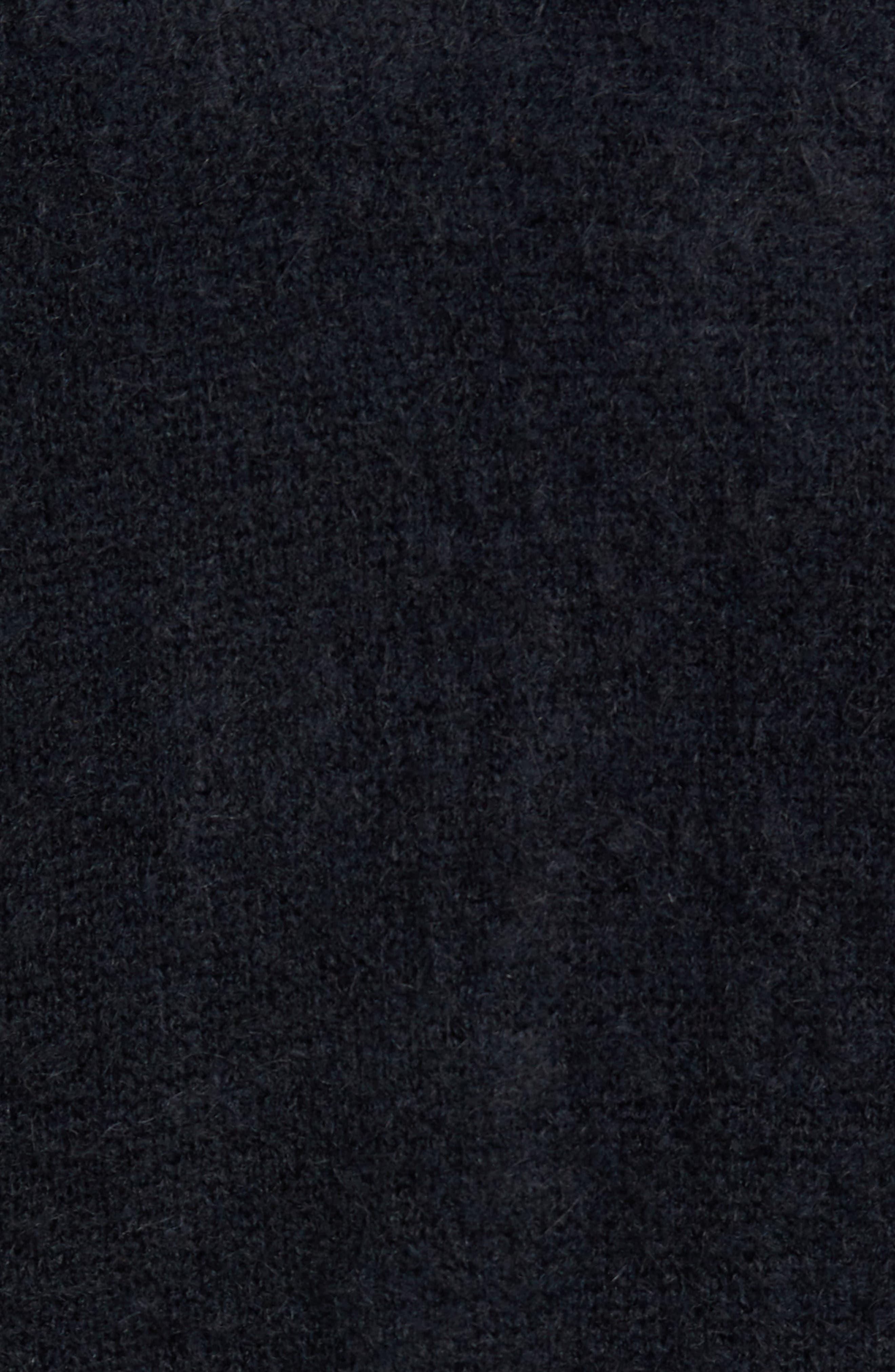 Long Cardigan,                             Alternate thumbnail 5, color,                             BLACK ROCK