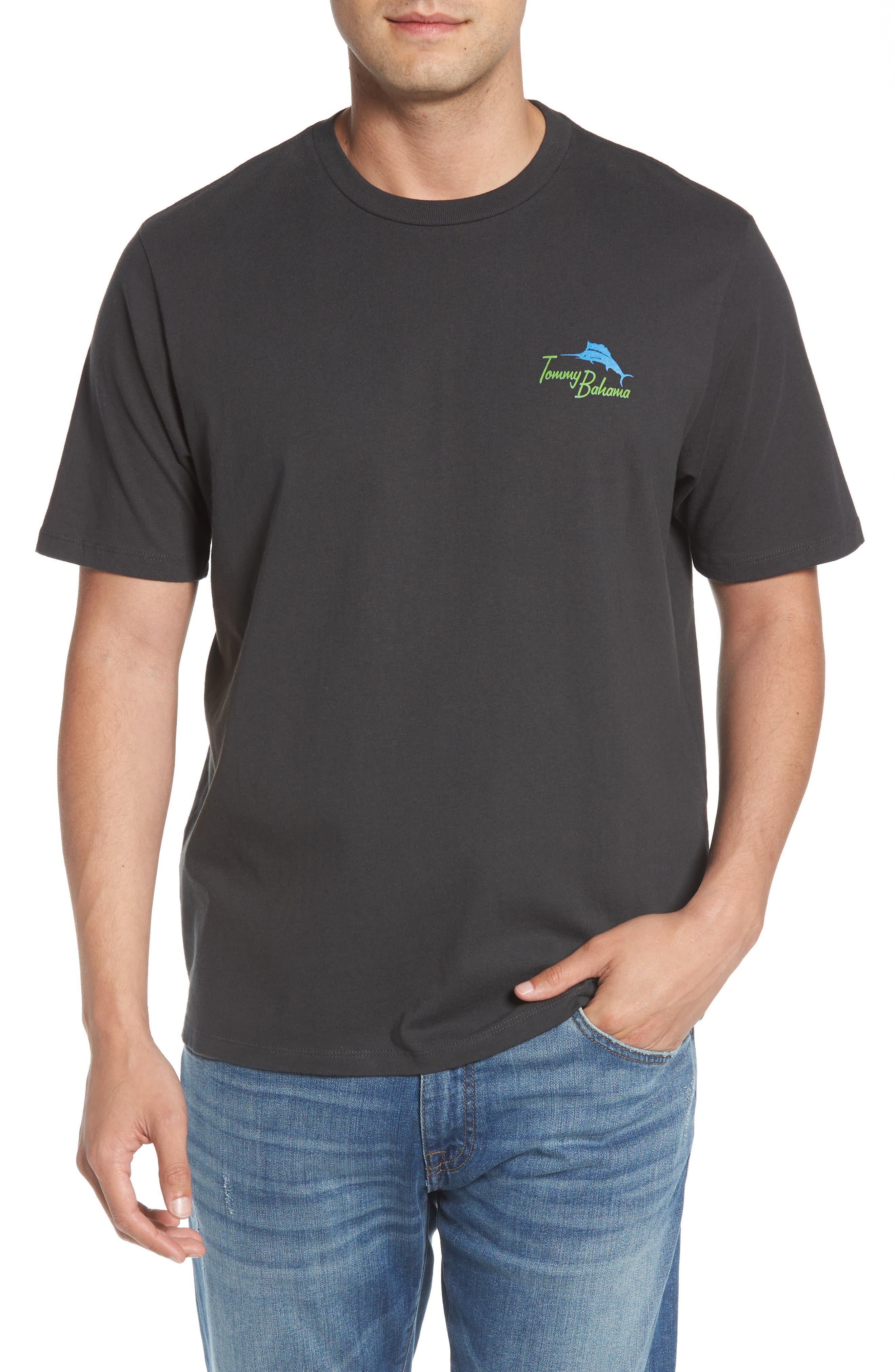 Friends in High Places Graphic T-Shirt,                             Main thumbnail 1, color,                             001