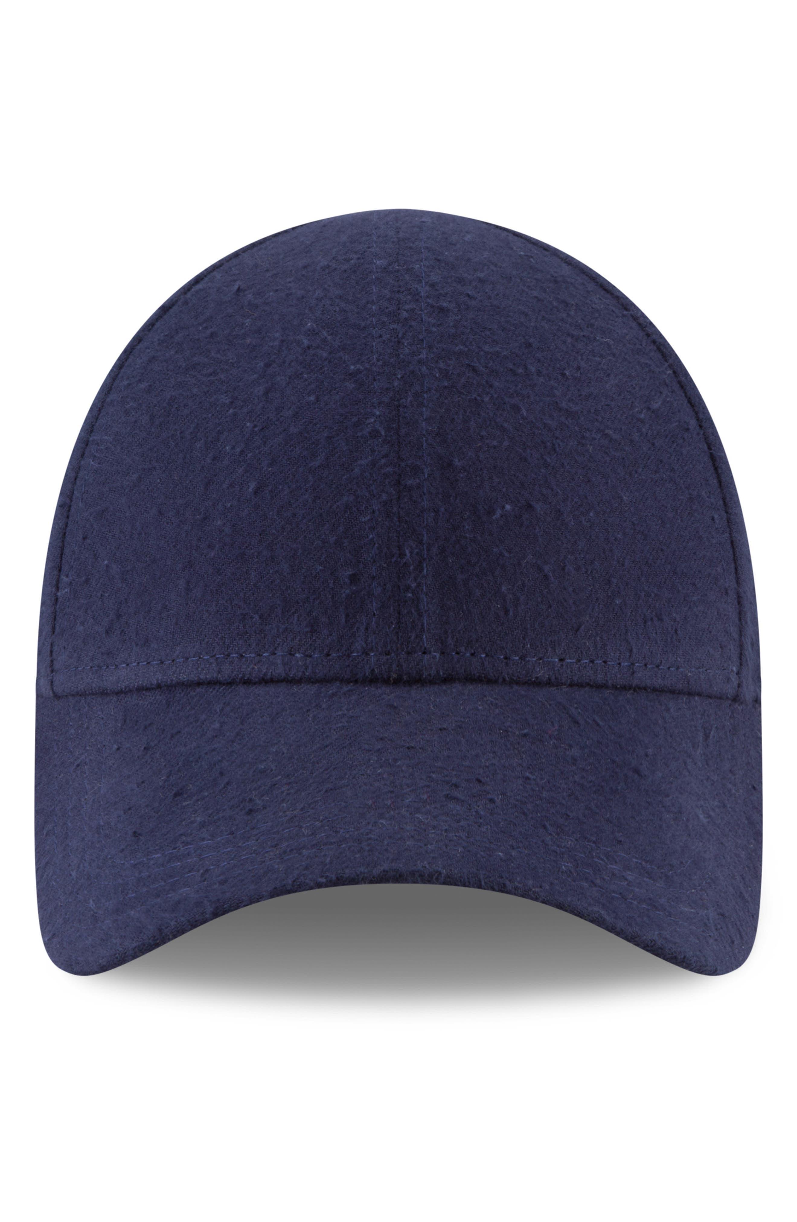 New Era 9Forty Fleece Baseball Cap,                         Main,                         color, NAVY