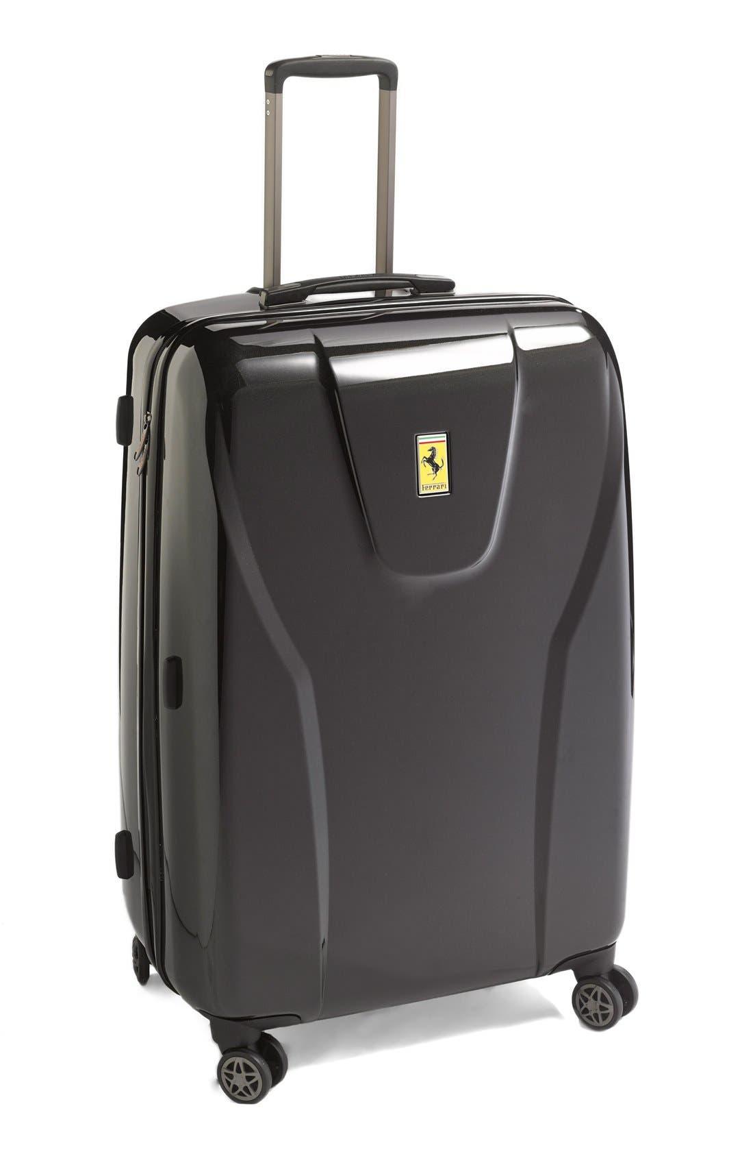 'Hi-Tech - Large' Wheeled Suitcase,                             Main thumbnail 1, color,                             001