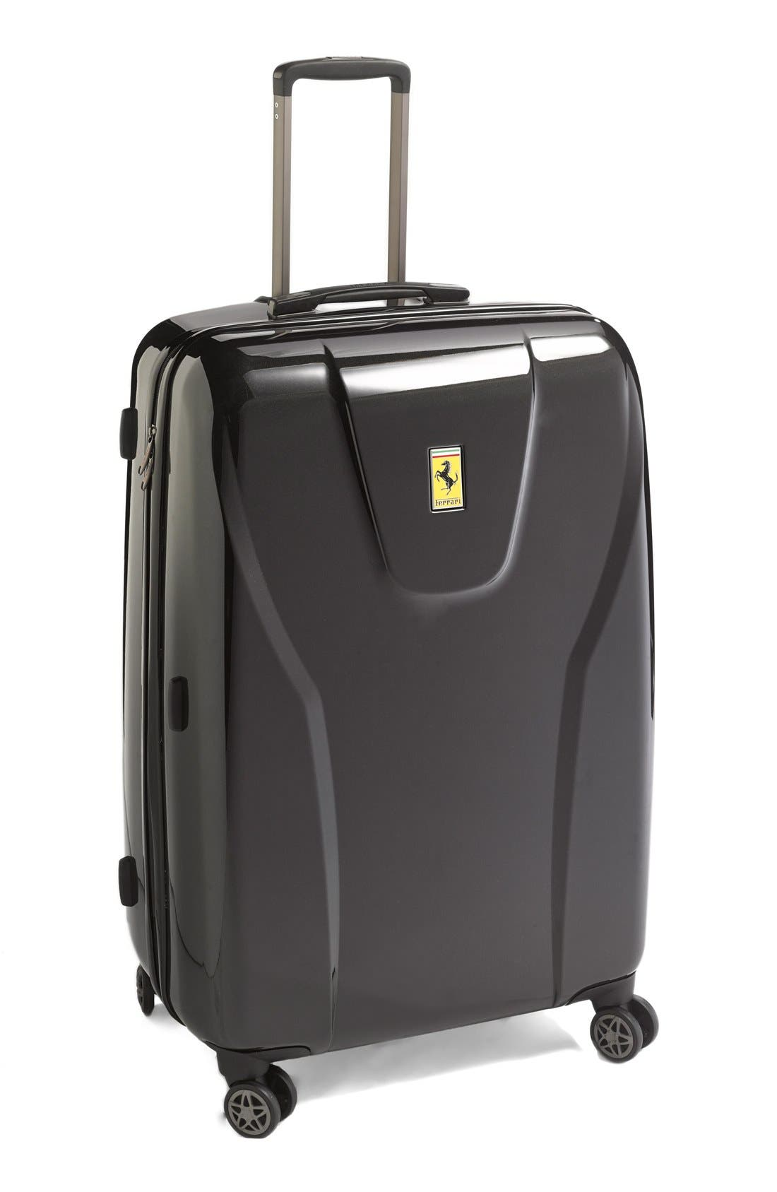 'Hi-Tech - Large' Wheeled Suitcase, Main, color, 001