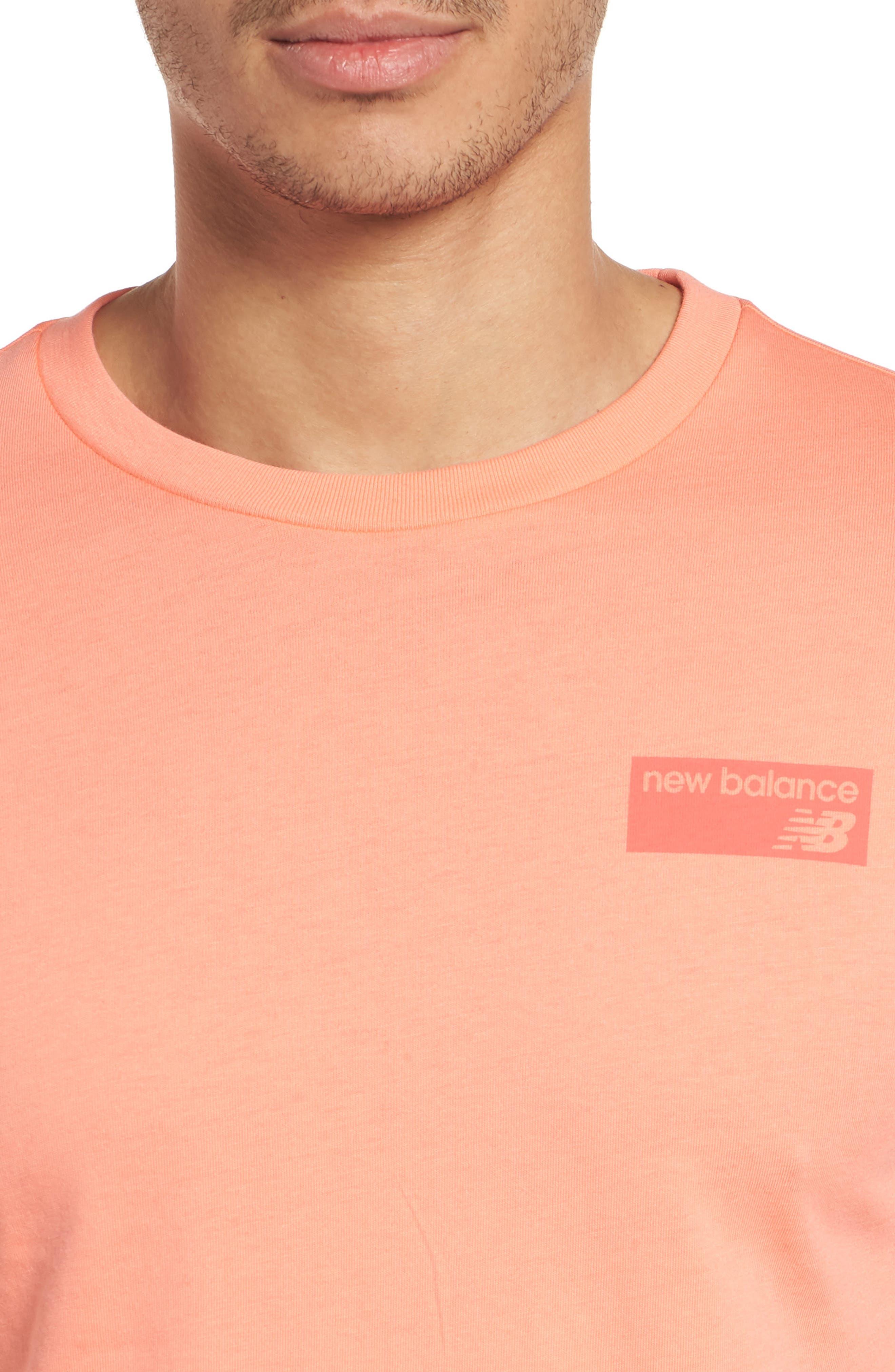 Athletics Classic Crewneck T-Shirt,                             Alternate thumbnail 4, color,                             FIJI
