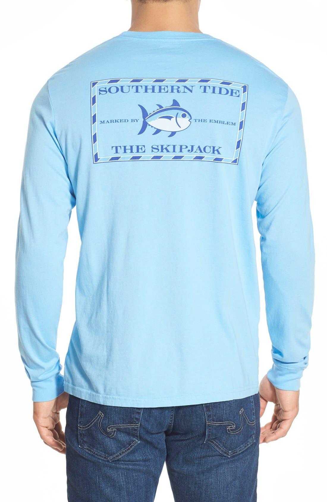 'Skipjack'Long Sleeve Graphic T-Shirt,                             Main thumbnail 8, color,