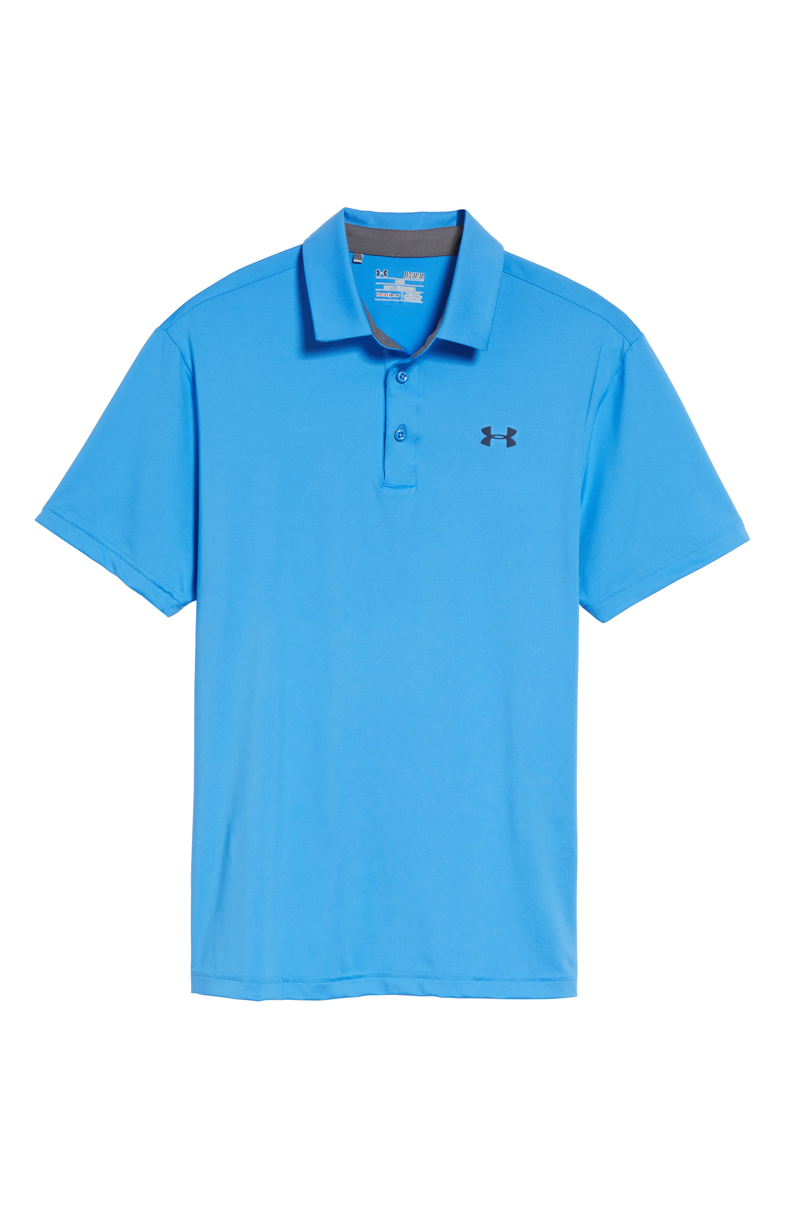'Playoff' Loose Fit Short Sleeve Polo,                             Alternate thumbnail 327, color,