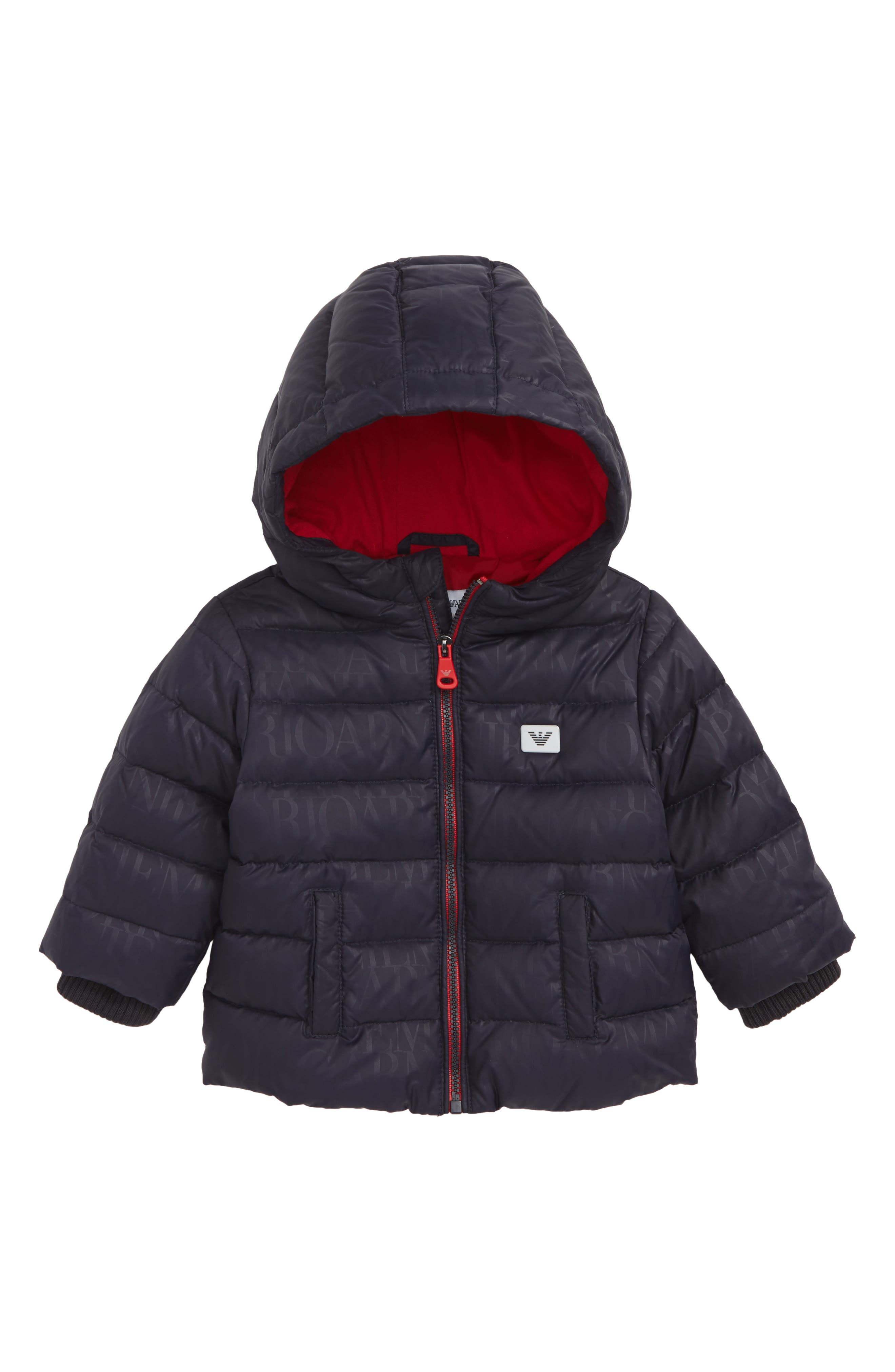 Hooded Down Jacket,                         Main,                         color, 400