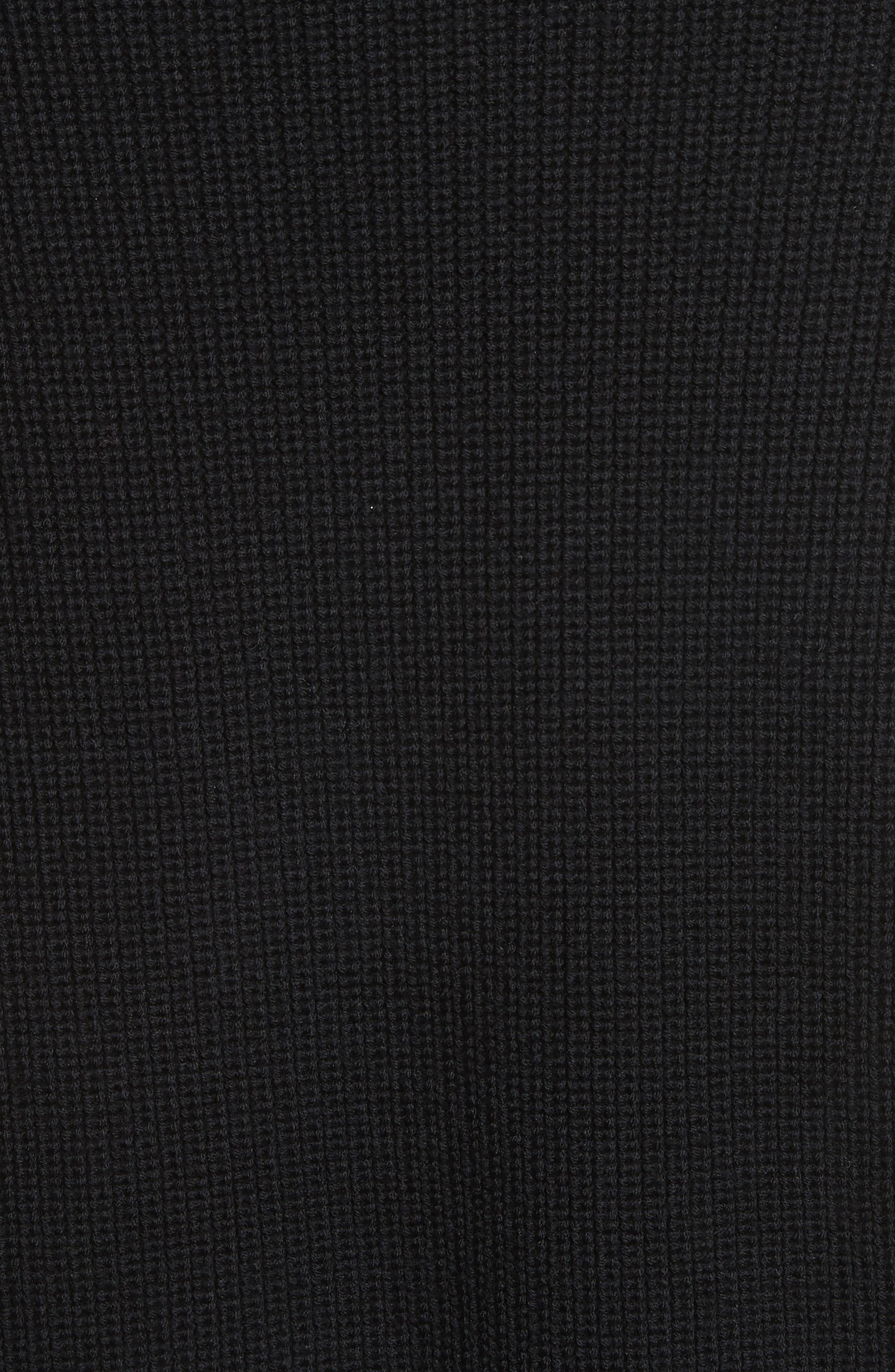 Tori Cutout Sweatshirt,                             Alternate thumbnail 5, color,                             001